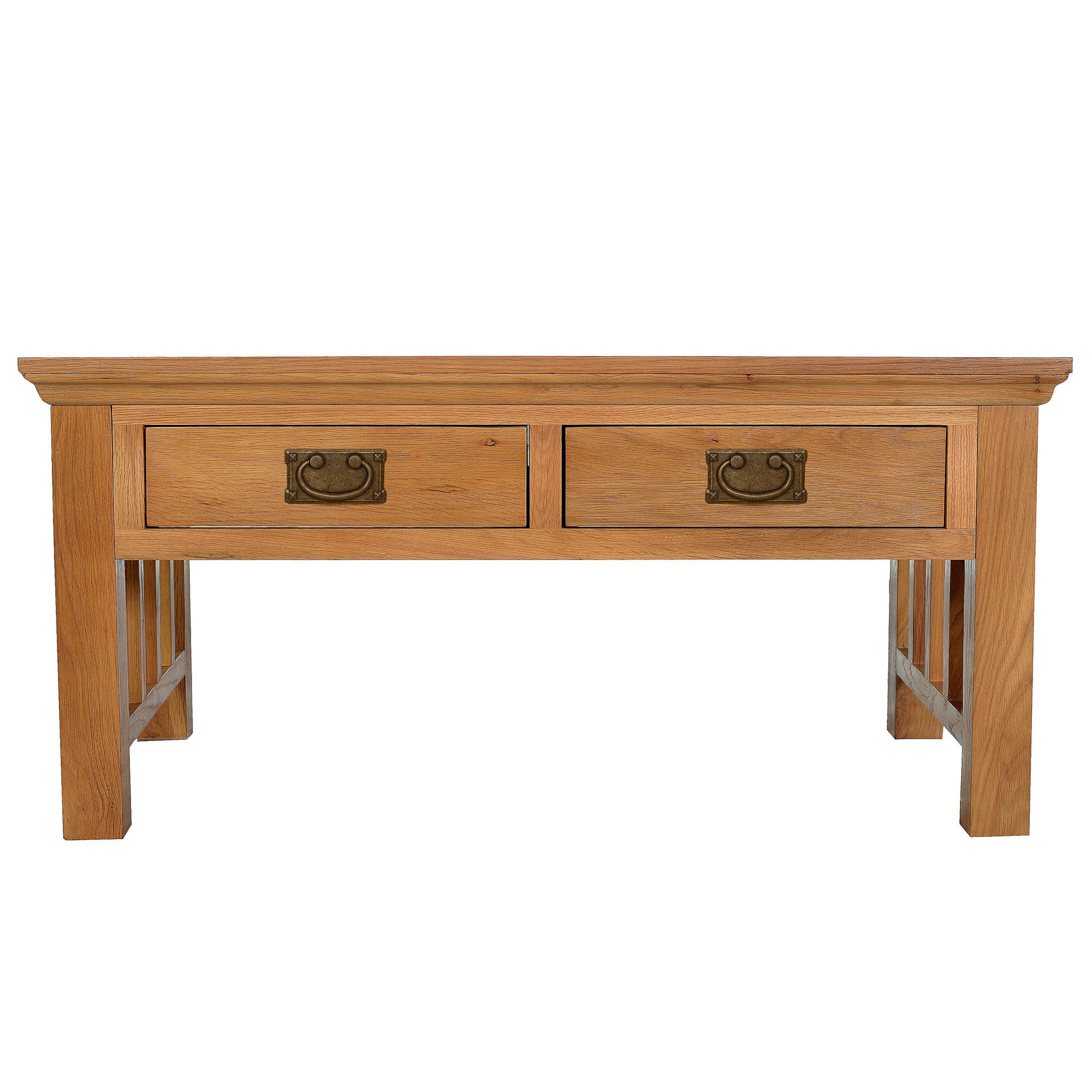 Dorchester Oak Coffee Table Light Brown  Natural
