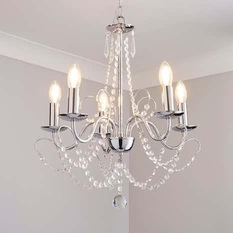 gatsby 5 light chandelier