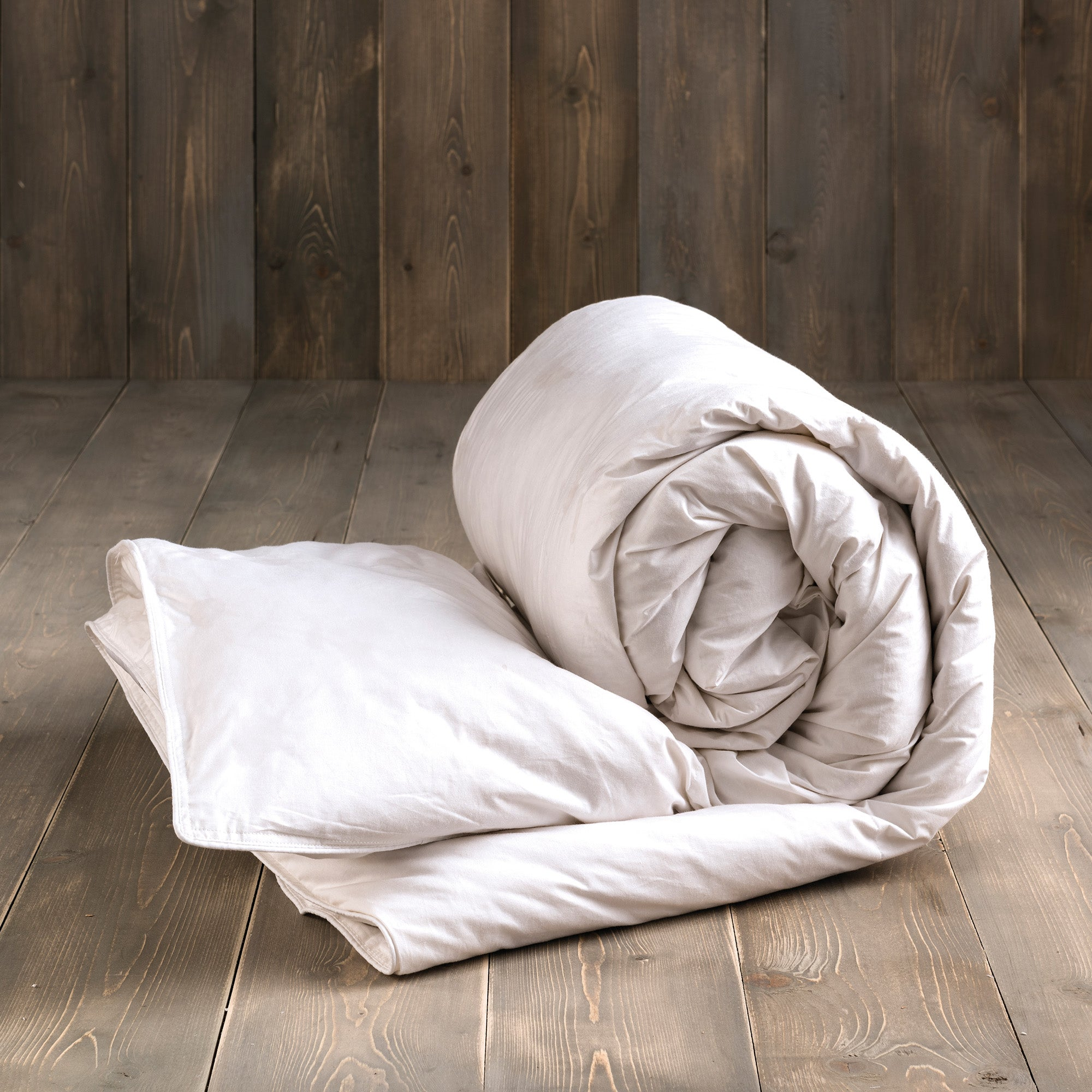 Image of Duck Feather and Down 10.5 Tog Duvet White