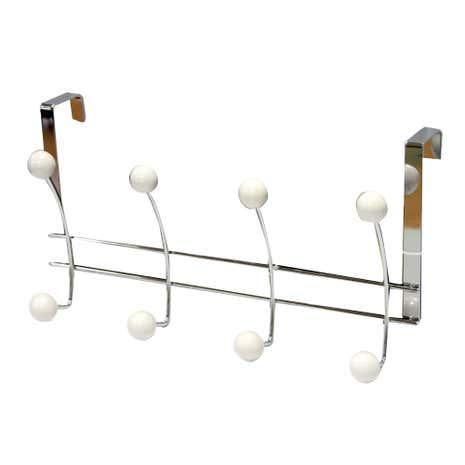 Bathroom Basics White Over Door Hook