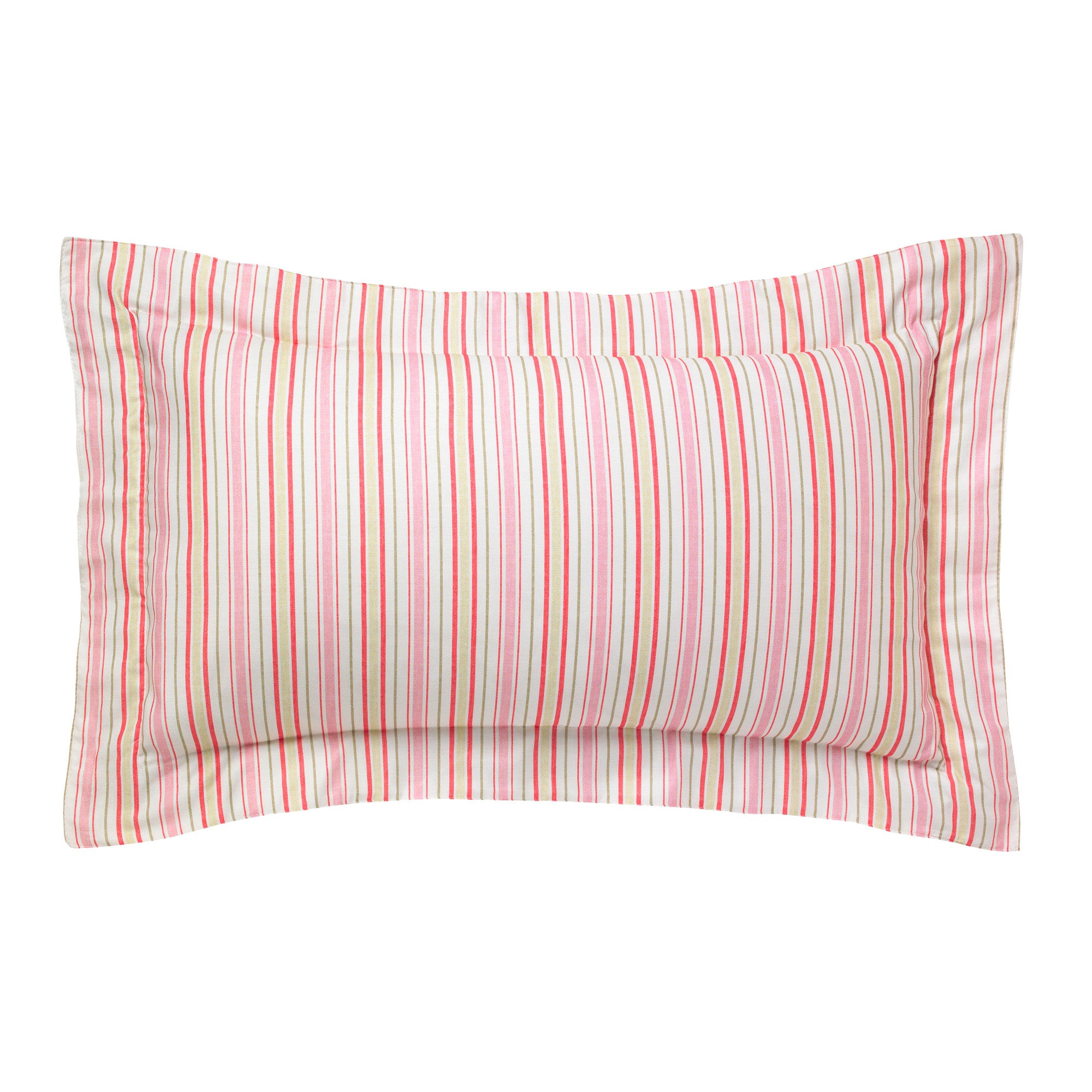 Image of Annabella Pink Oxford Pillowcase Pink