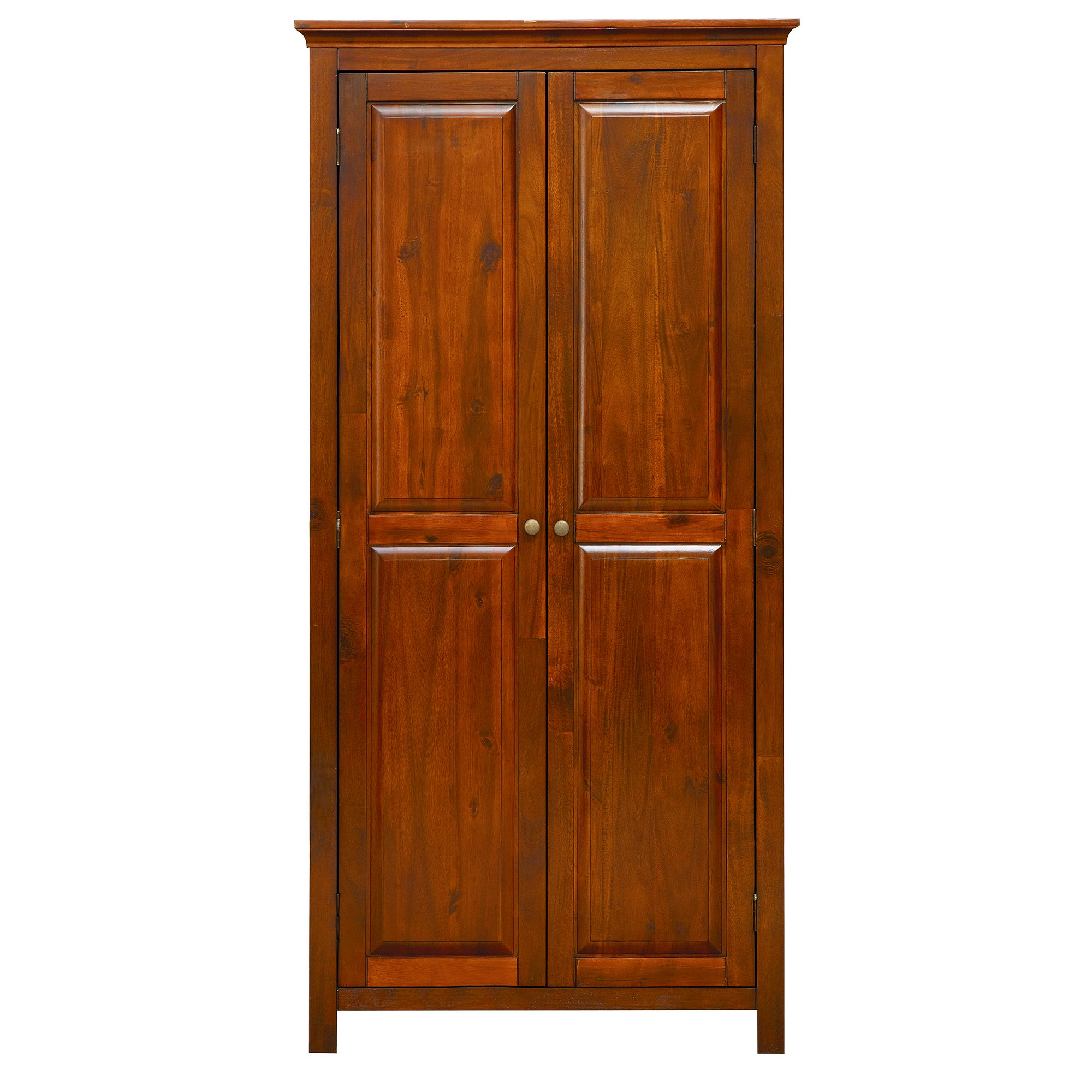 Photo of Winchester acacia double wardrobe chestnut brown