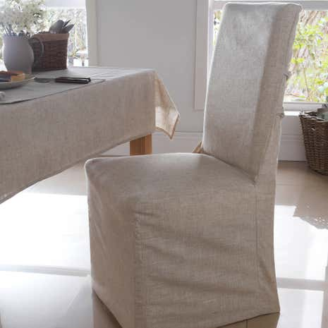 Polylinen Pack Of 2 Chair Covers