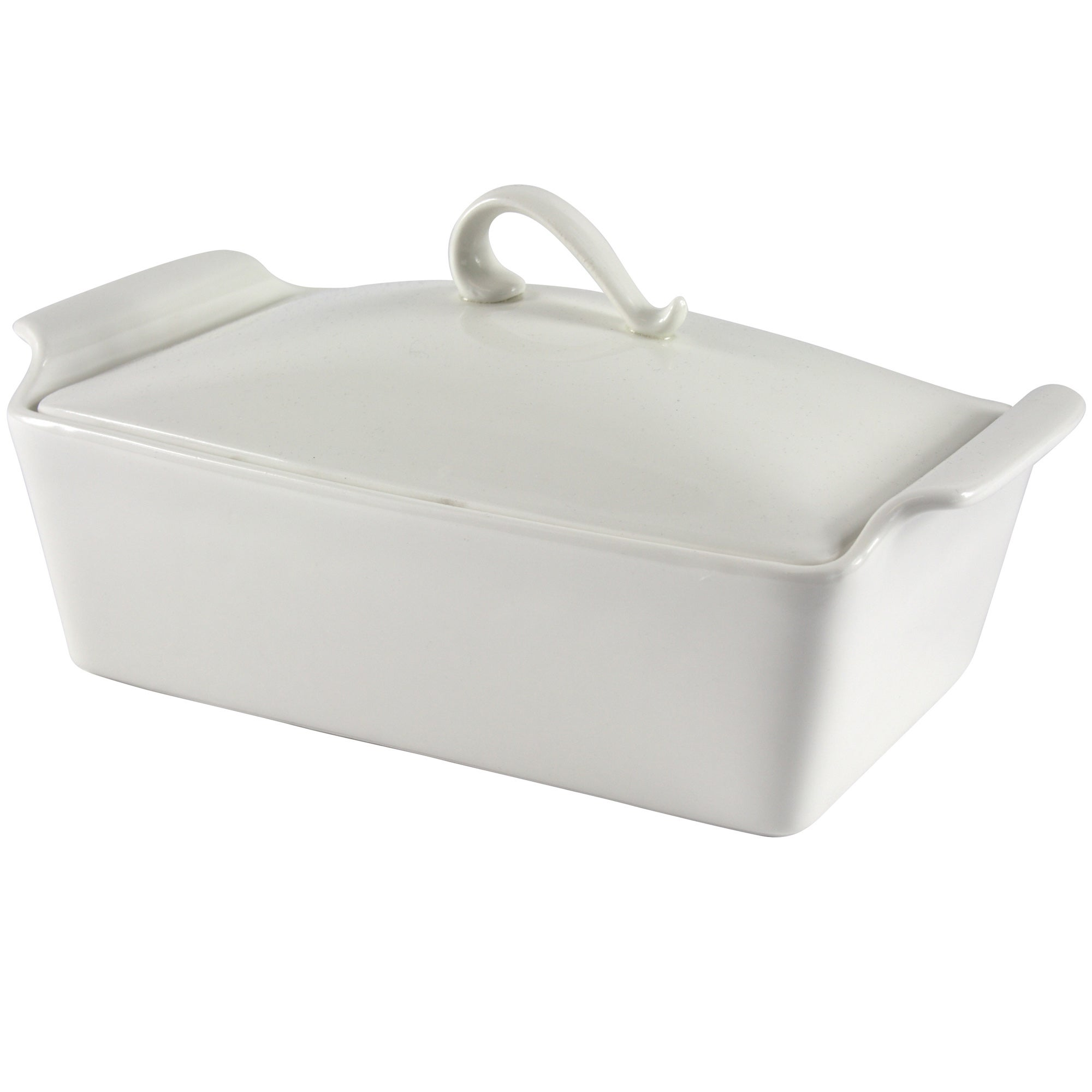 Image of Pausa Lidded Casserole Dish White