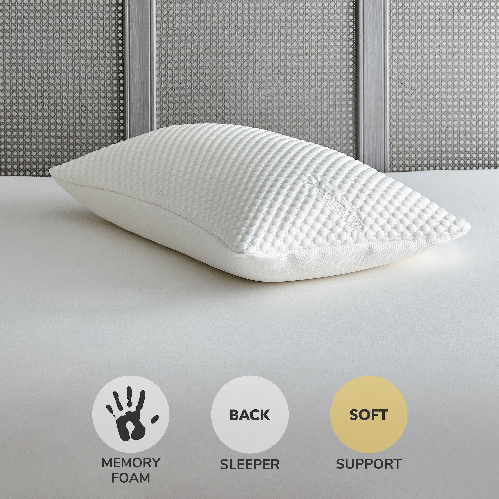 Image of Tempur Cloud Medium-Support Pillow White