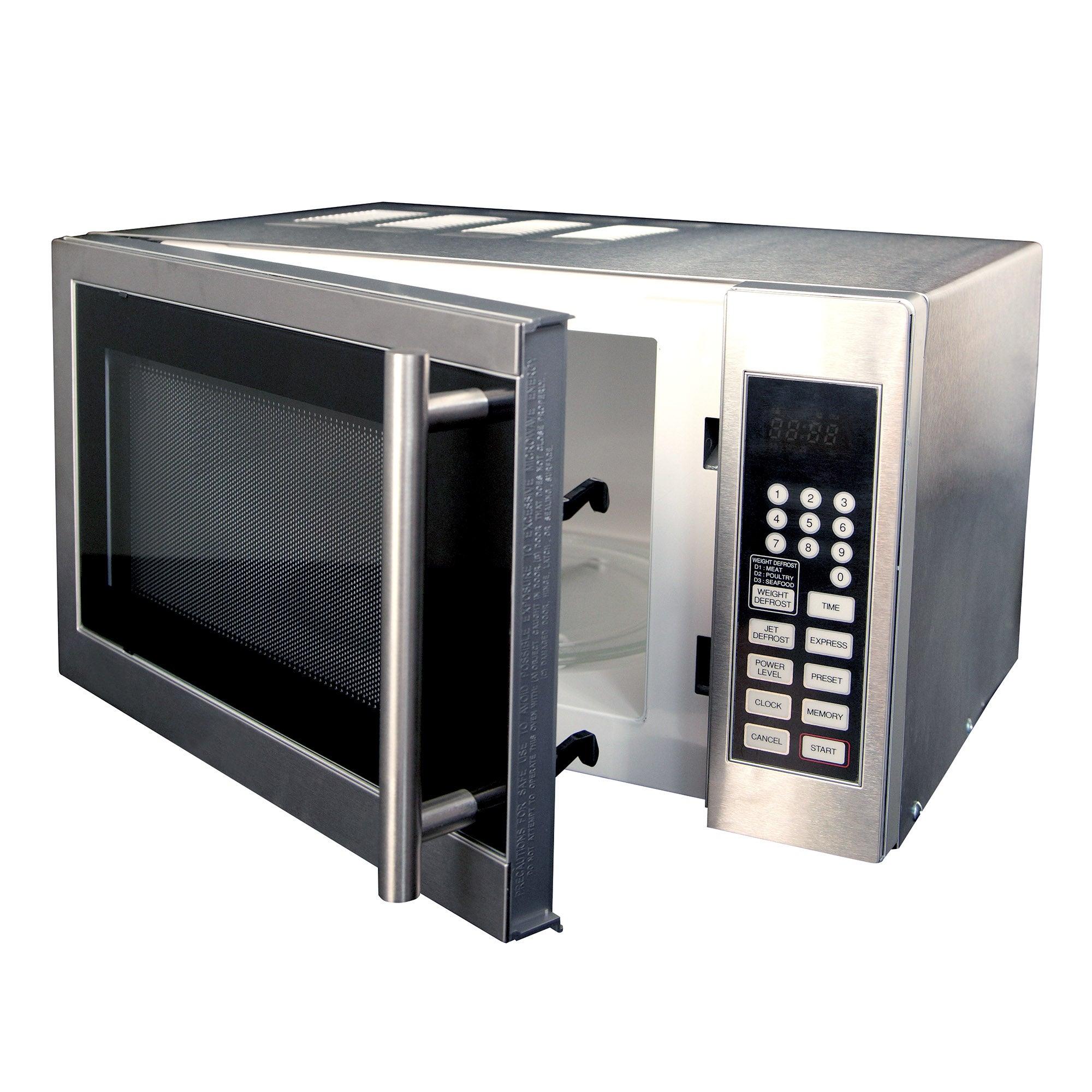 Dunelm 20L Silver Digital Microwave Silver