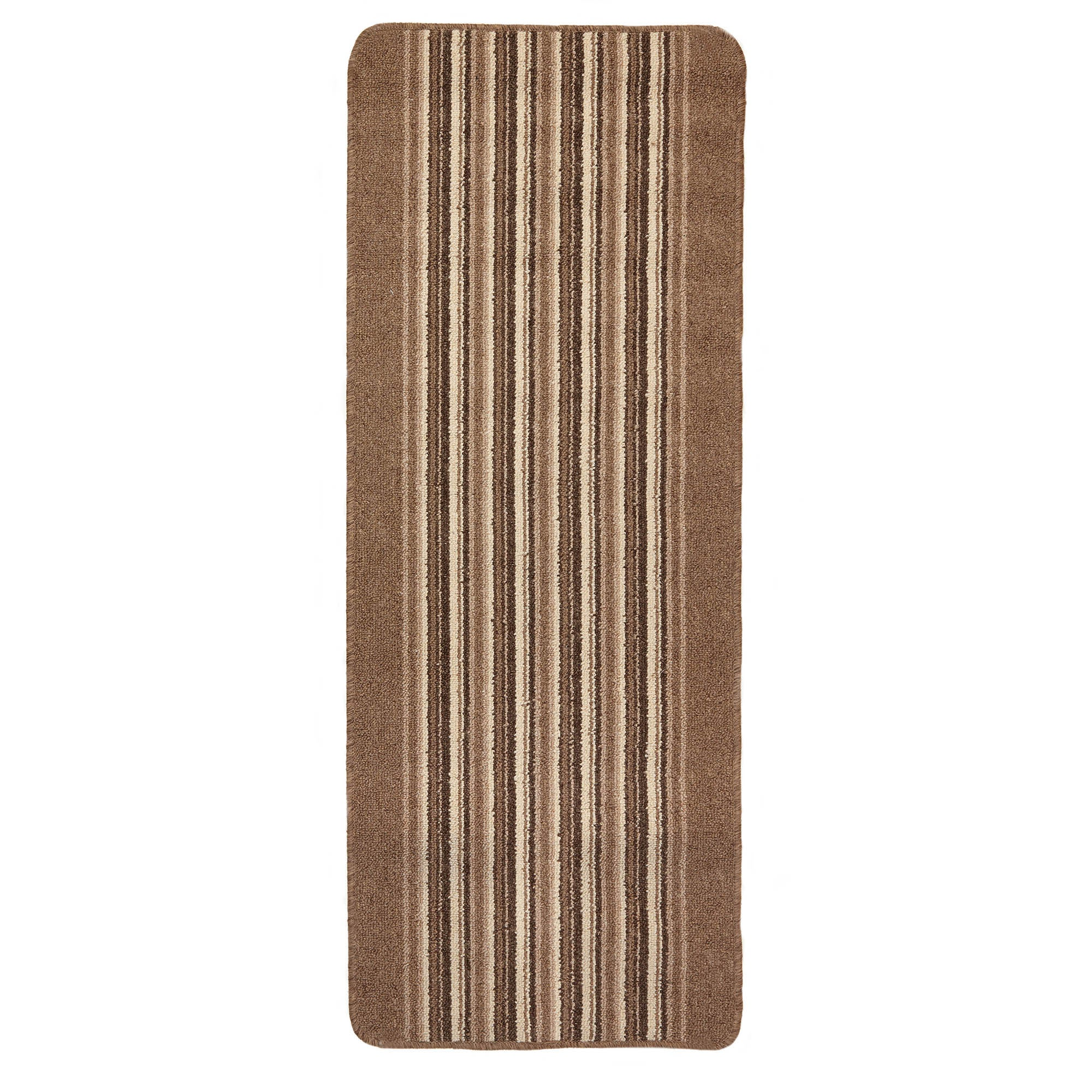 Photo of Lineage washable runner mocha brown