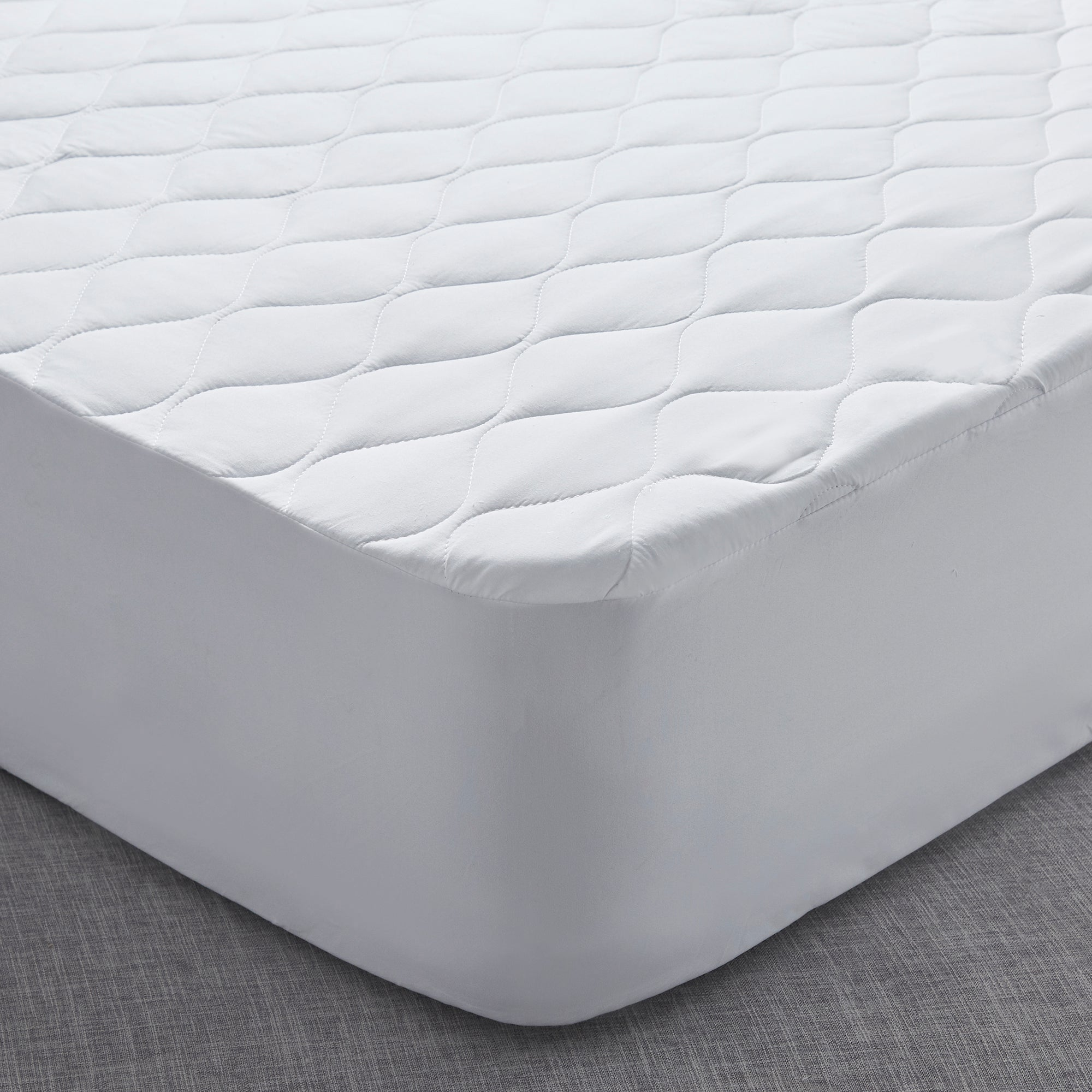 Fogarty Anti Allergy Mattress Protector White