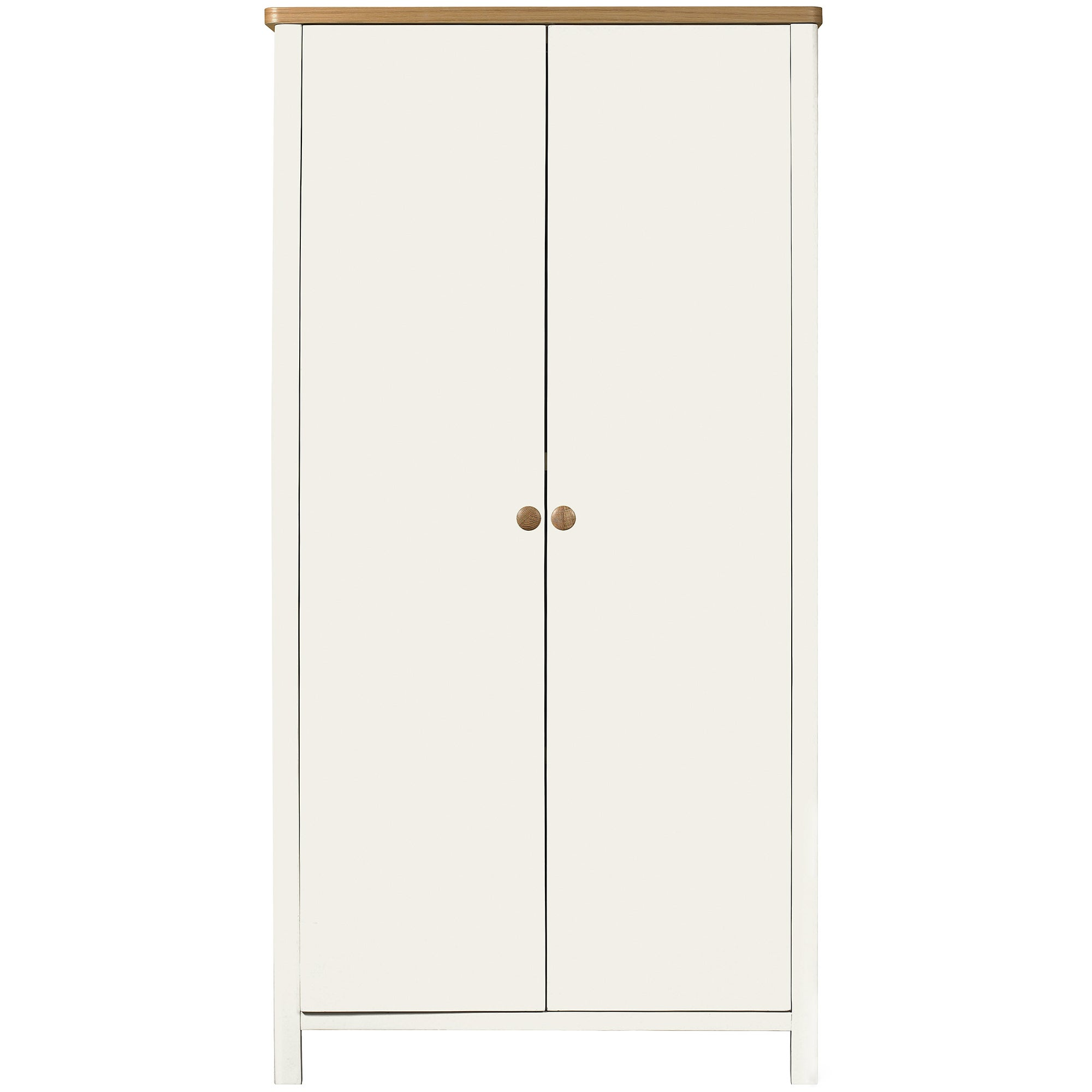 Photo of Kids morgan oak double wardrobe light brown / natural