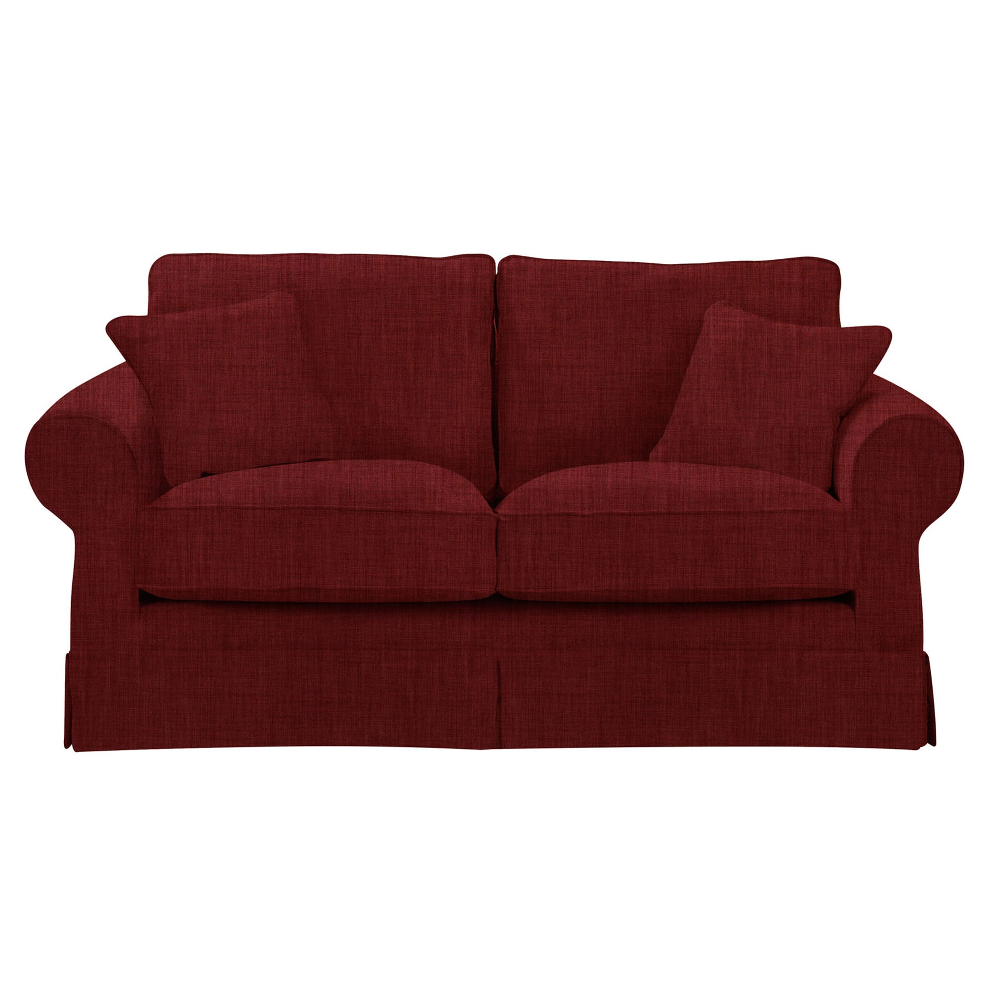Mansfield Sofa Dark Red