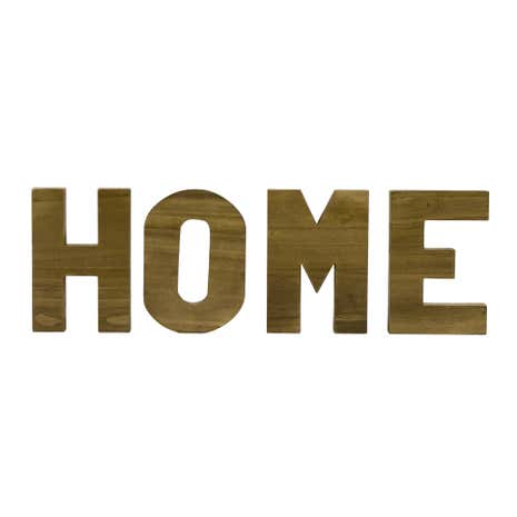 hamptons wooden home letters dunelm