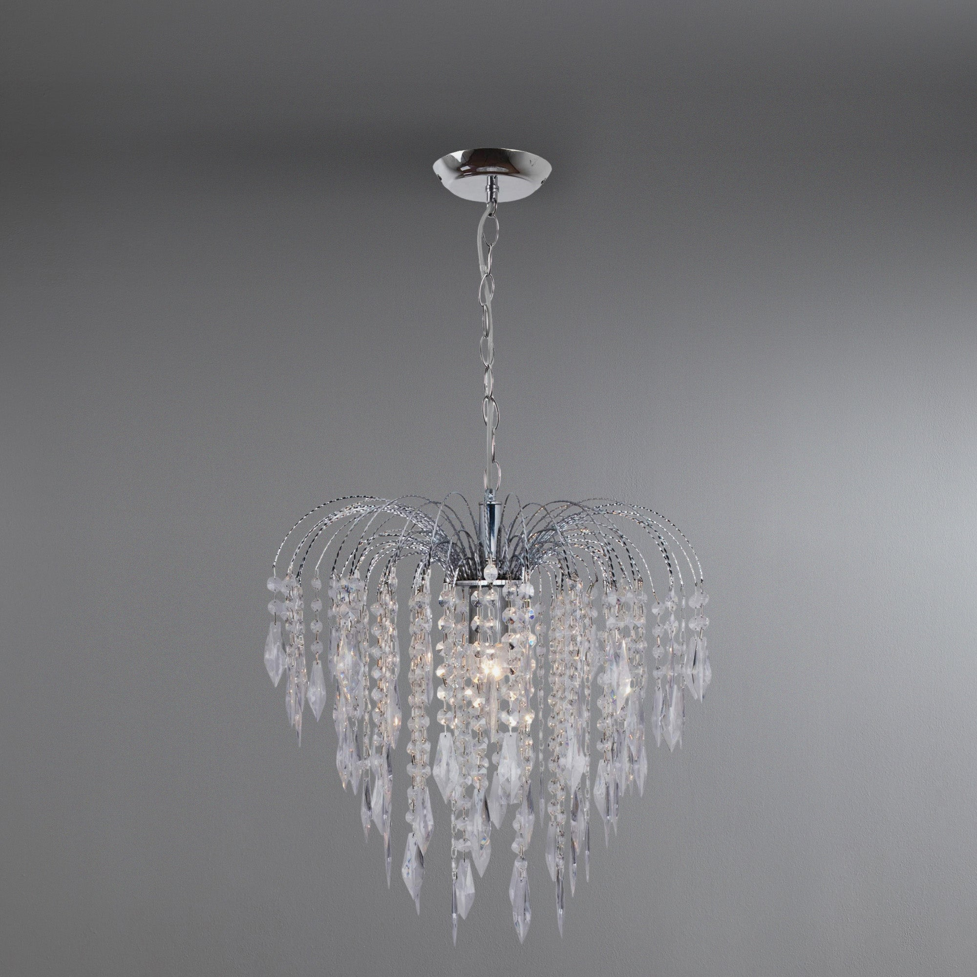 Photo of Lydia 1 light fitting silver