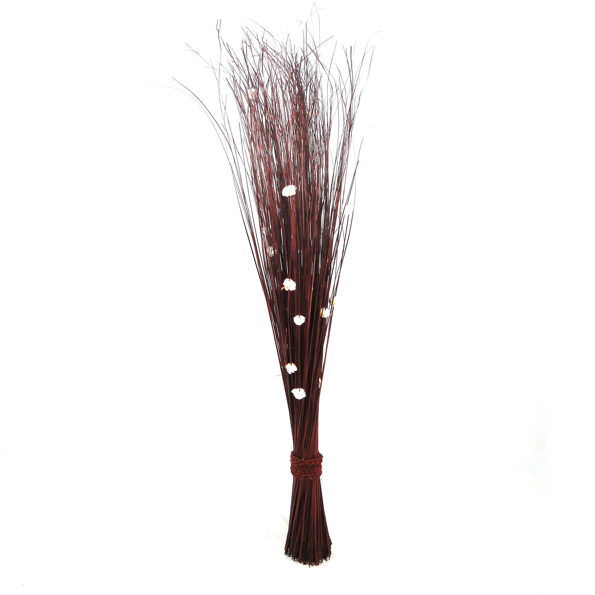 Image of Natural Ting Bundle With Flower Chocolate Brown