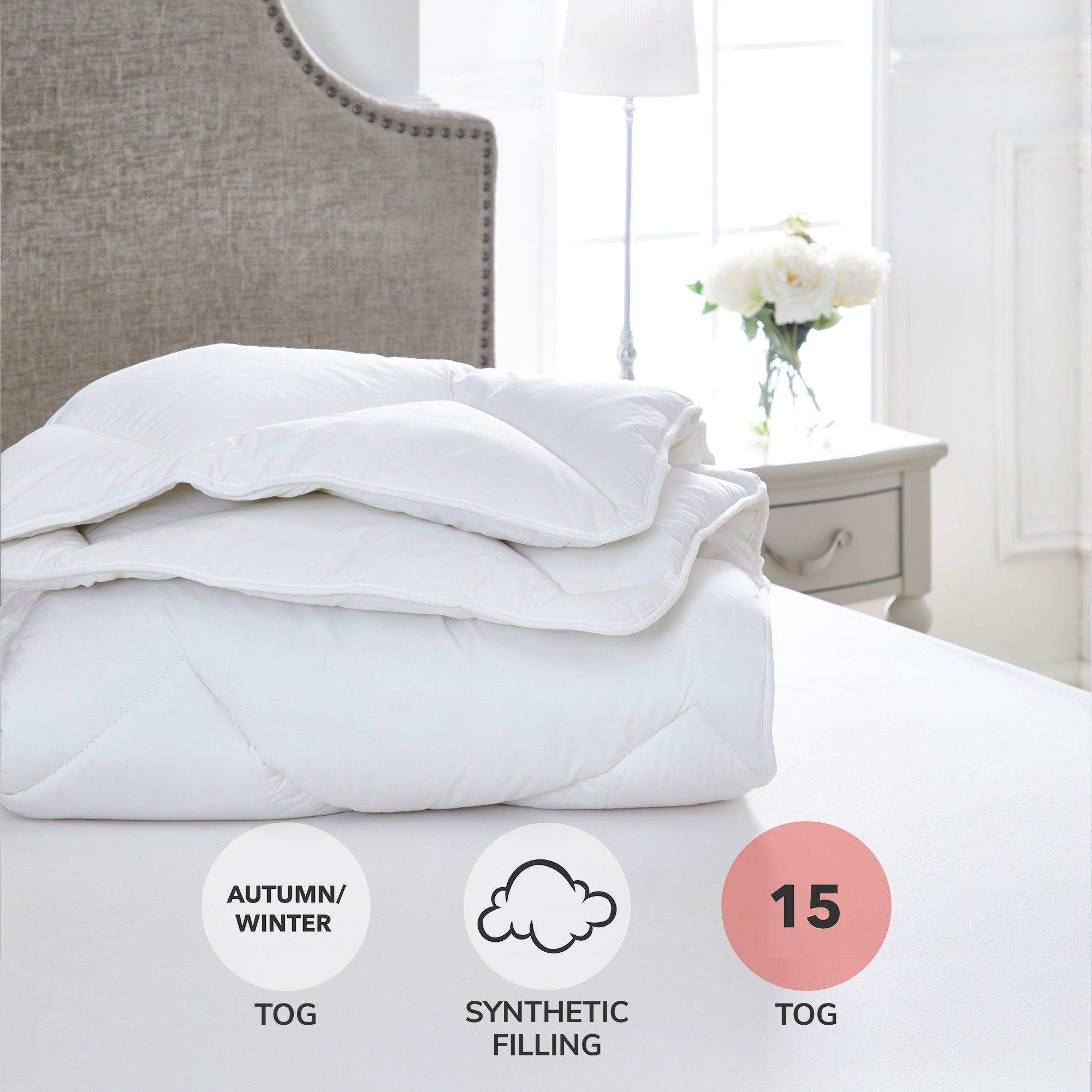 Dorma Full Forever 15 Tog Duvet White