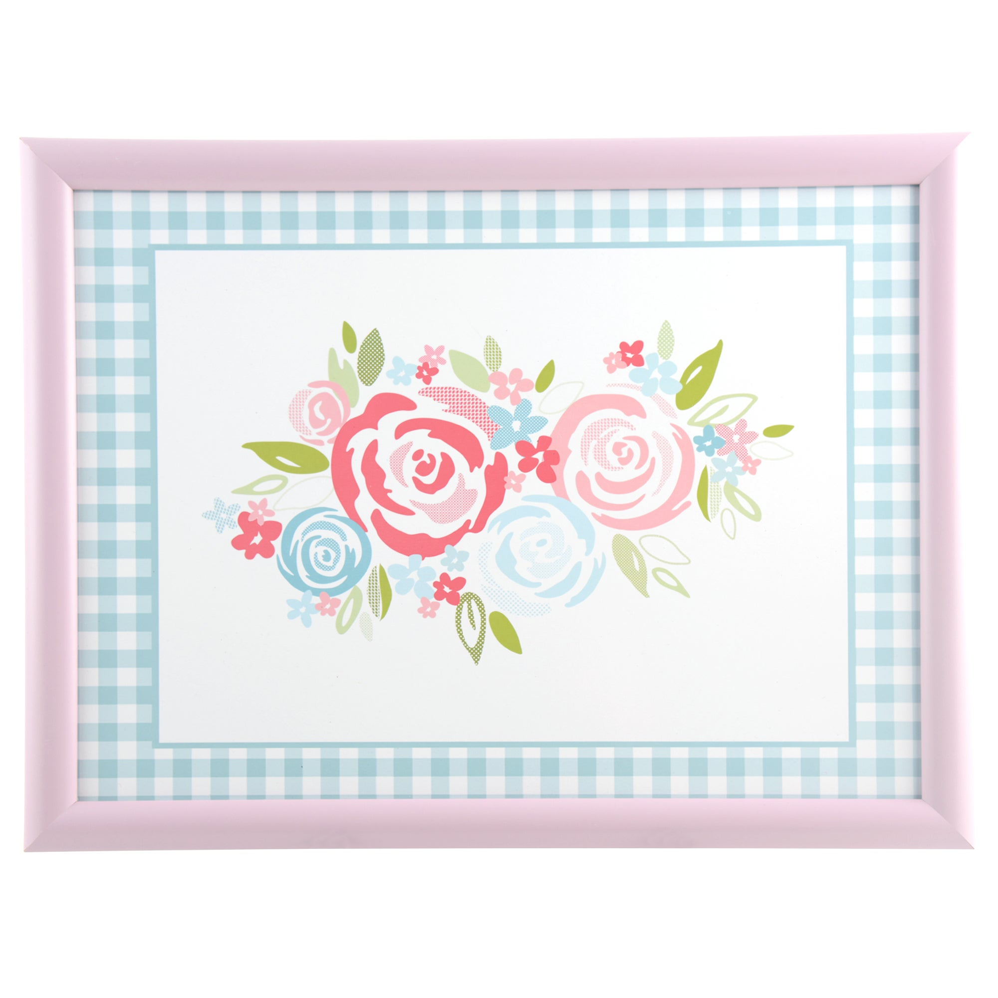 Image of Candy Rose Lap Tray Pink / Cream