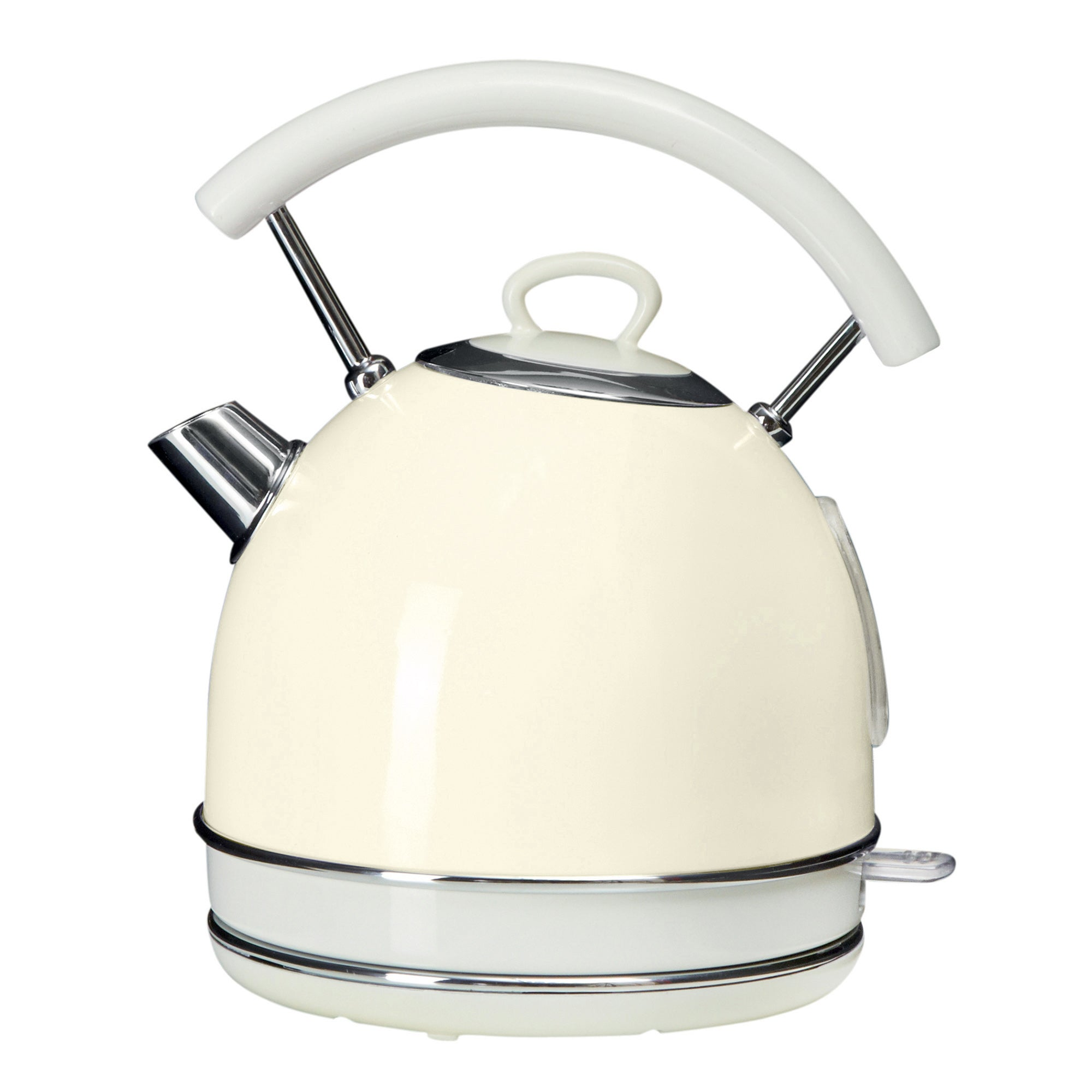 Candy Rose 1.7L Cream Kettle Cream