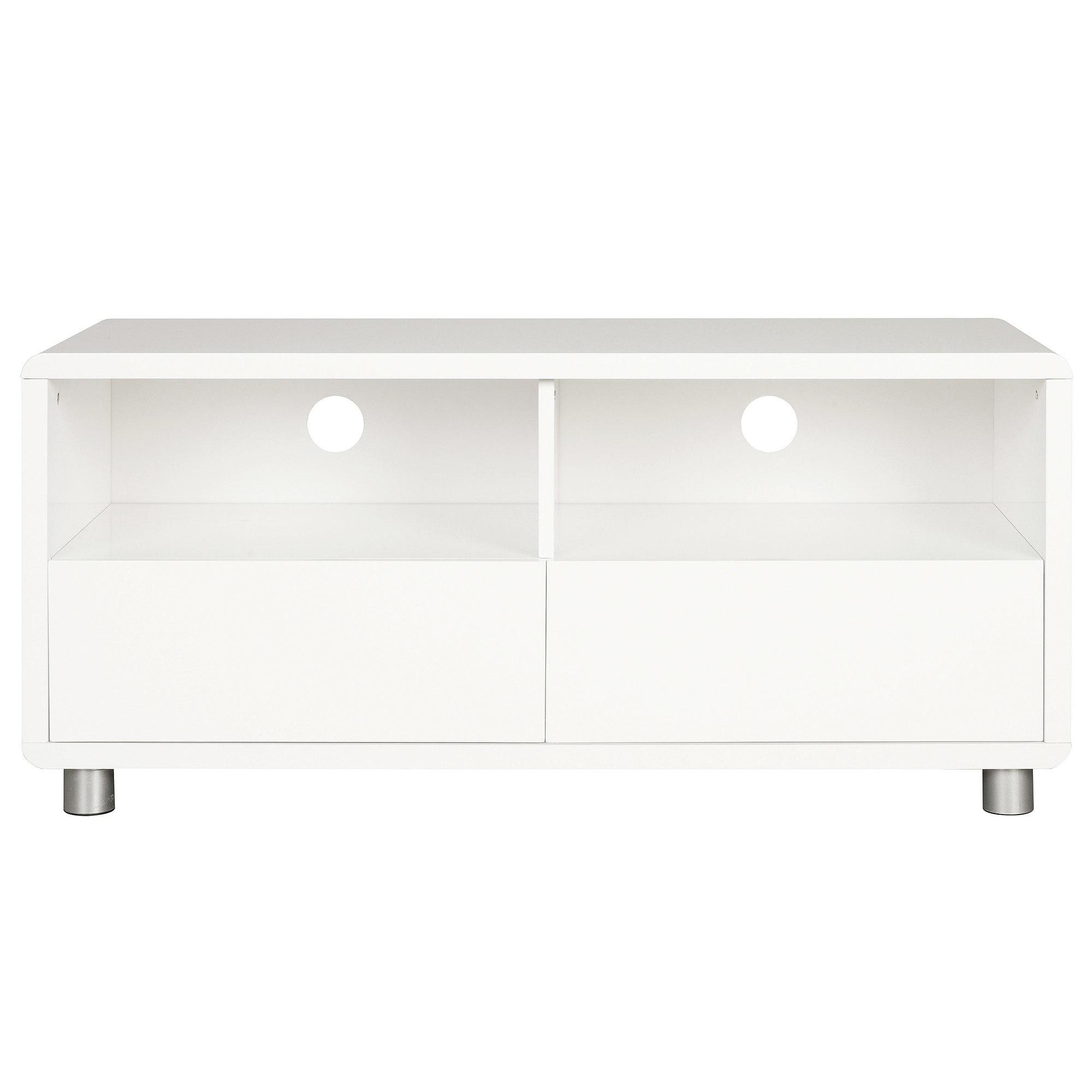 Soho White Gloss TV Stand White