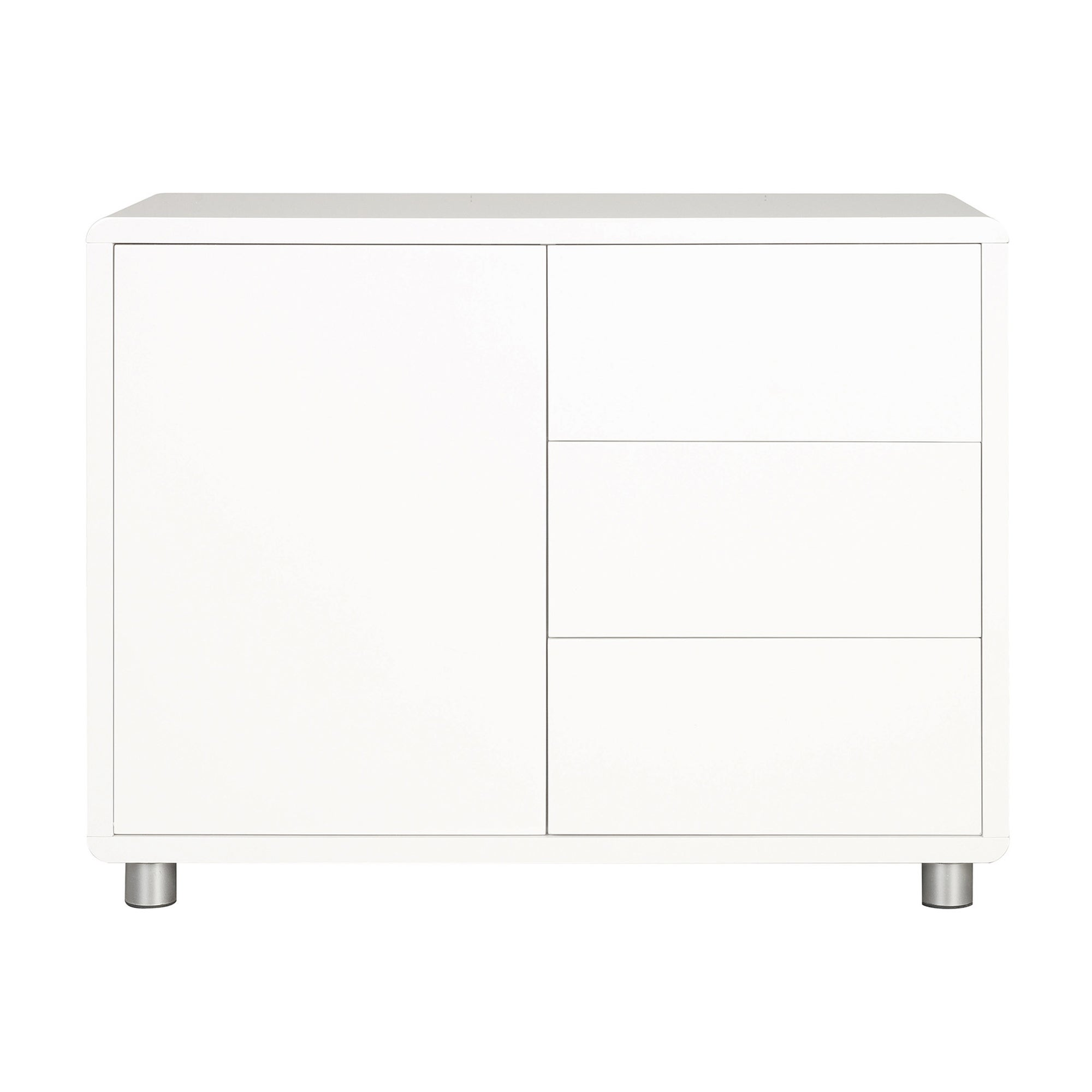 Soho White Gloss Sideboard White