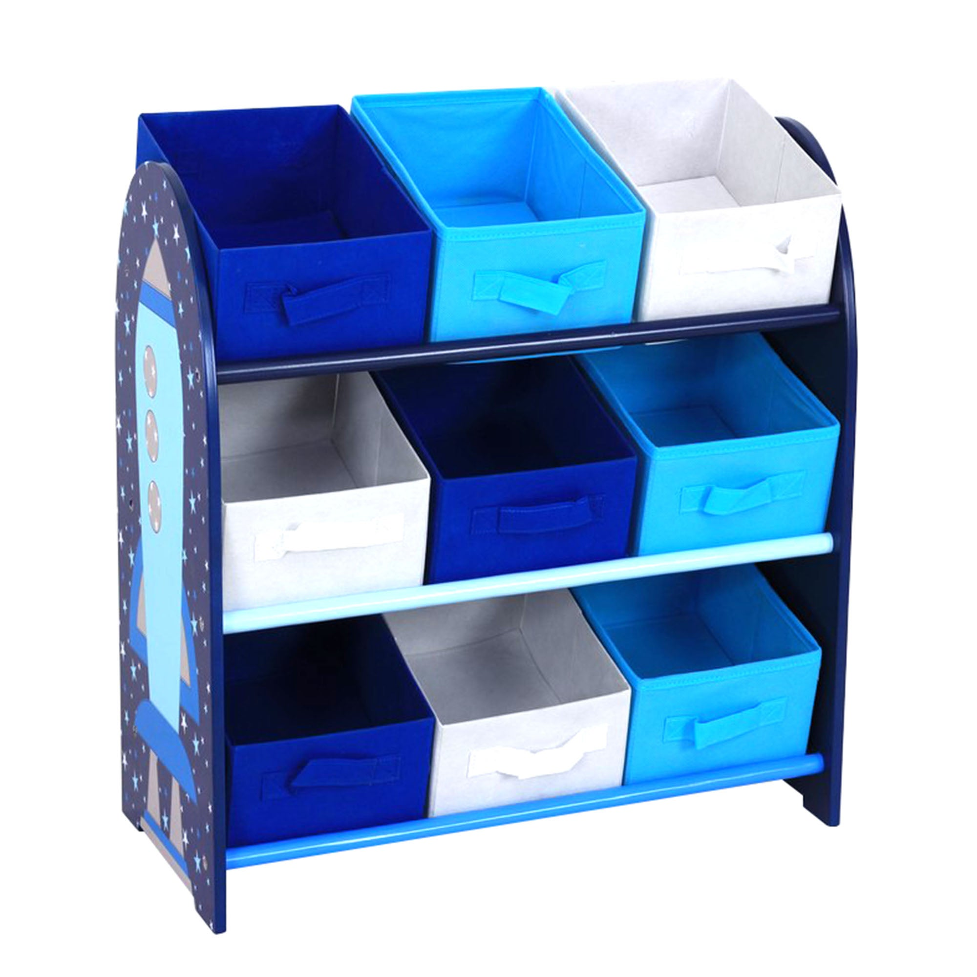 Kids storage unit shop for cheap beds and save online for Space fabric dunelm