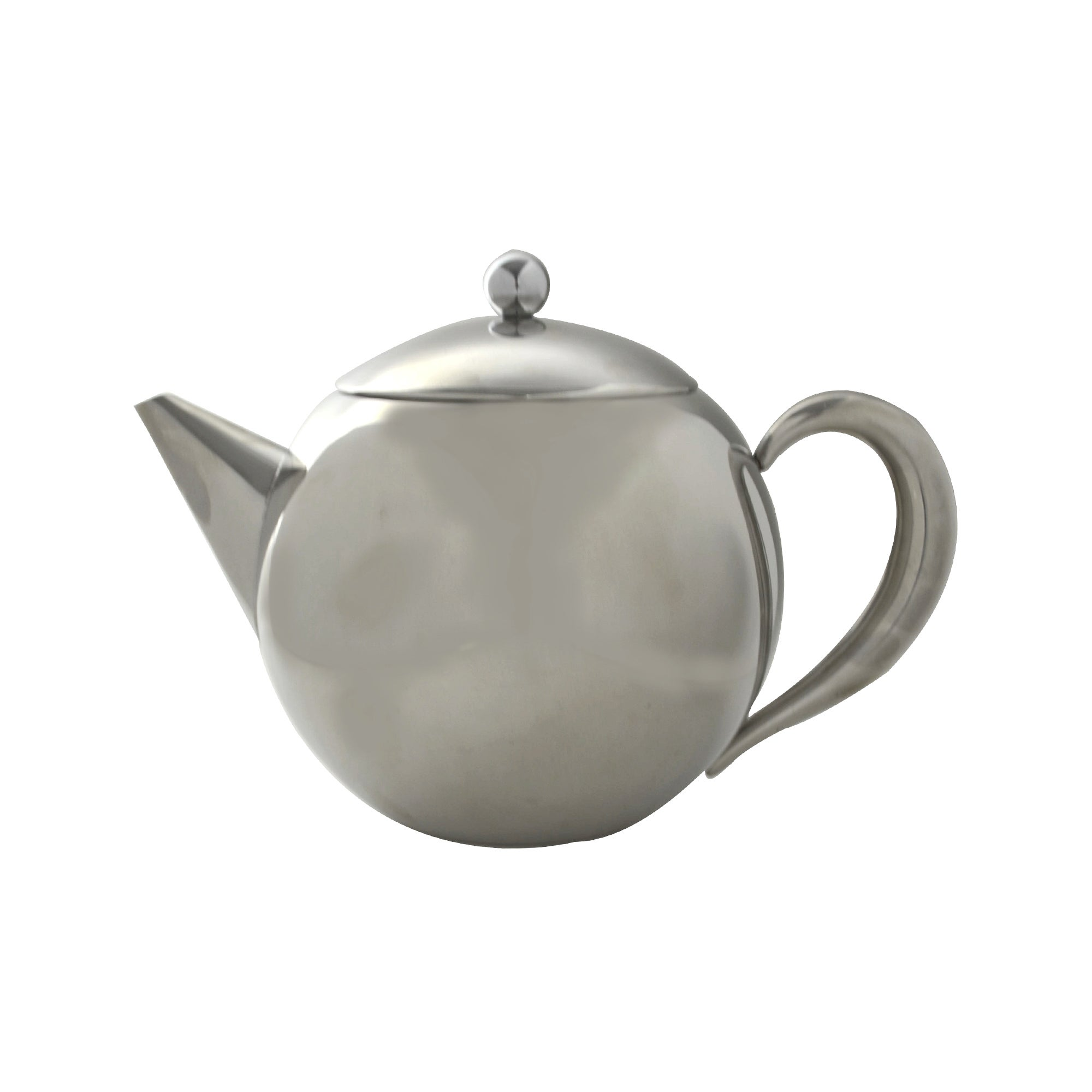 Image of 1.2 Litre Stainless Steel Teapot Silver