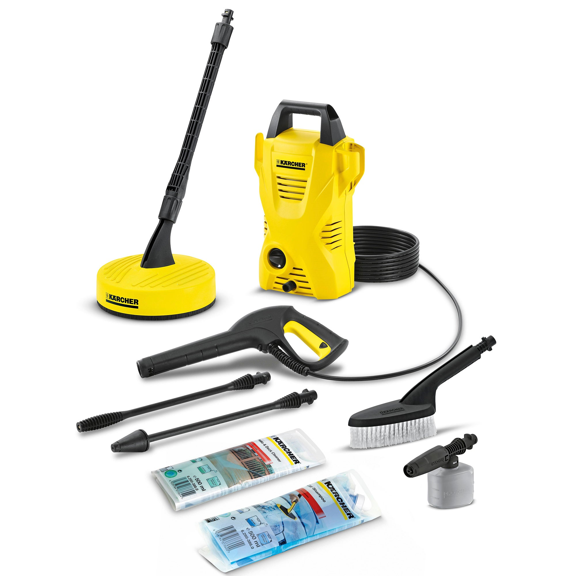 Karcher K2 Compact Home and Car Pressure Washer Yellow
