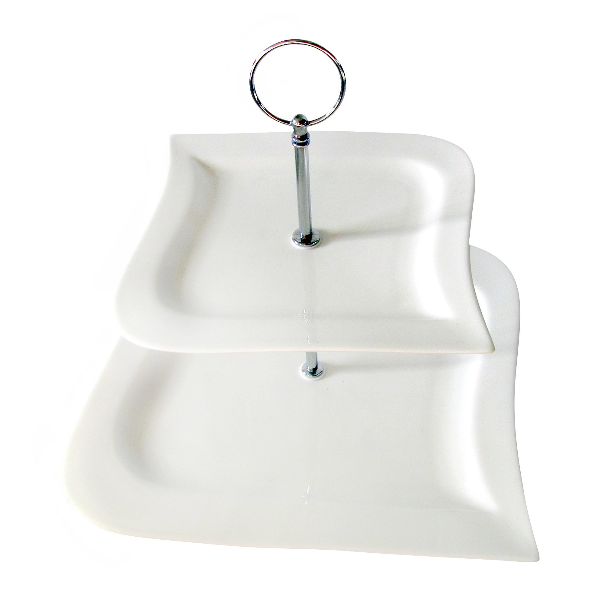Hotel Chelsea Cake Stand White