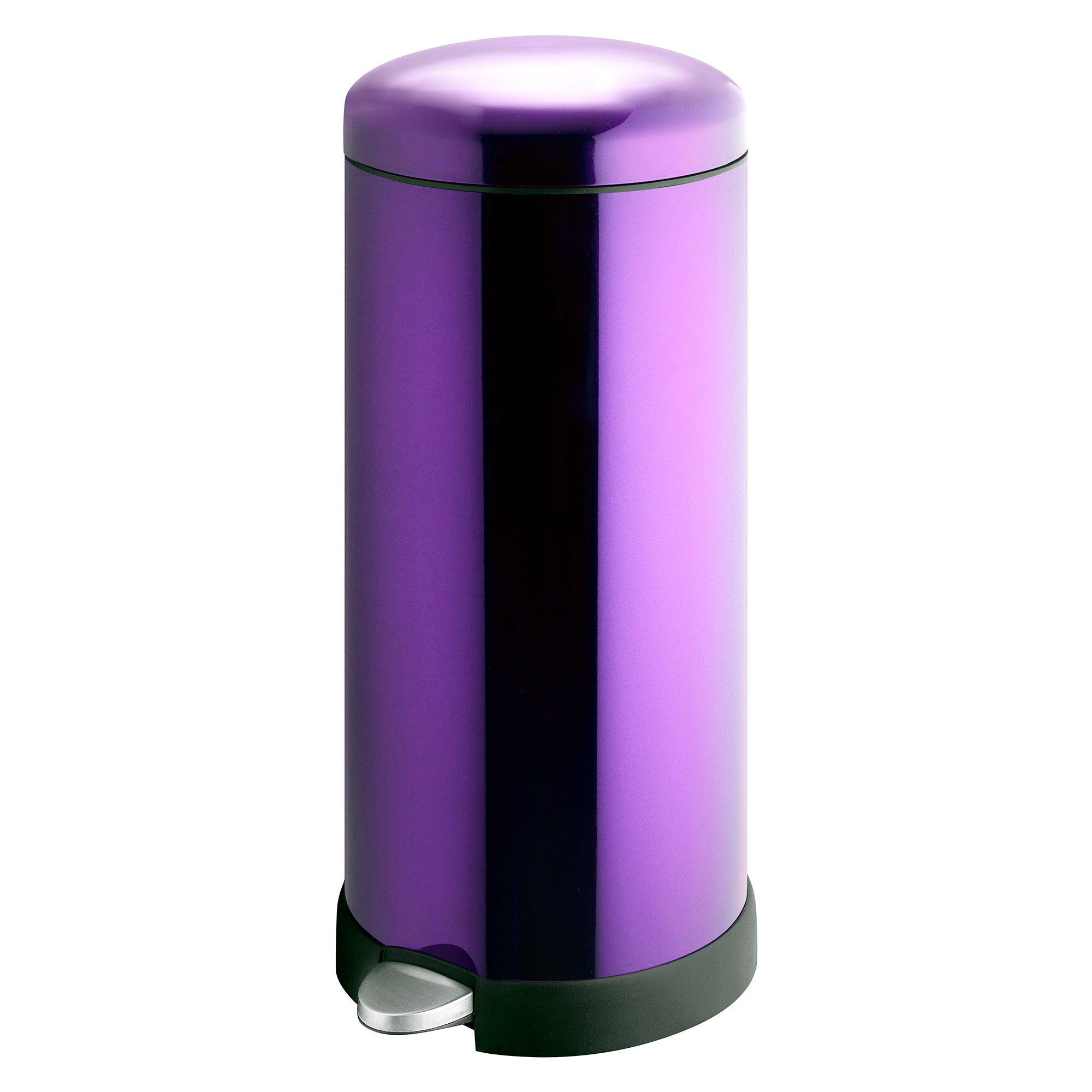 Spectrum Purple 30 Litre Pedal Bin Purple