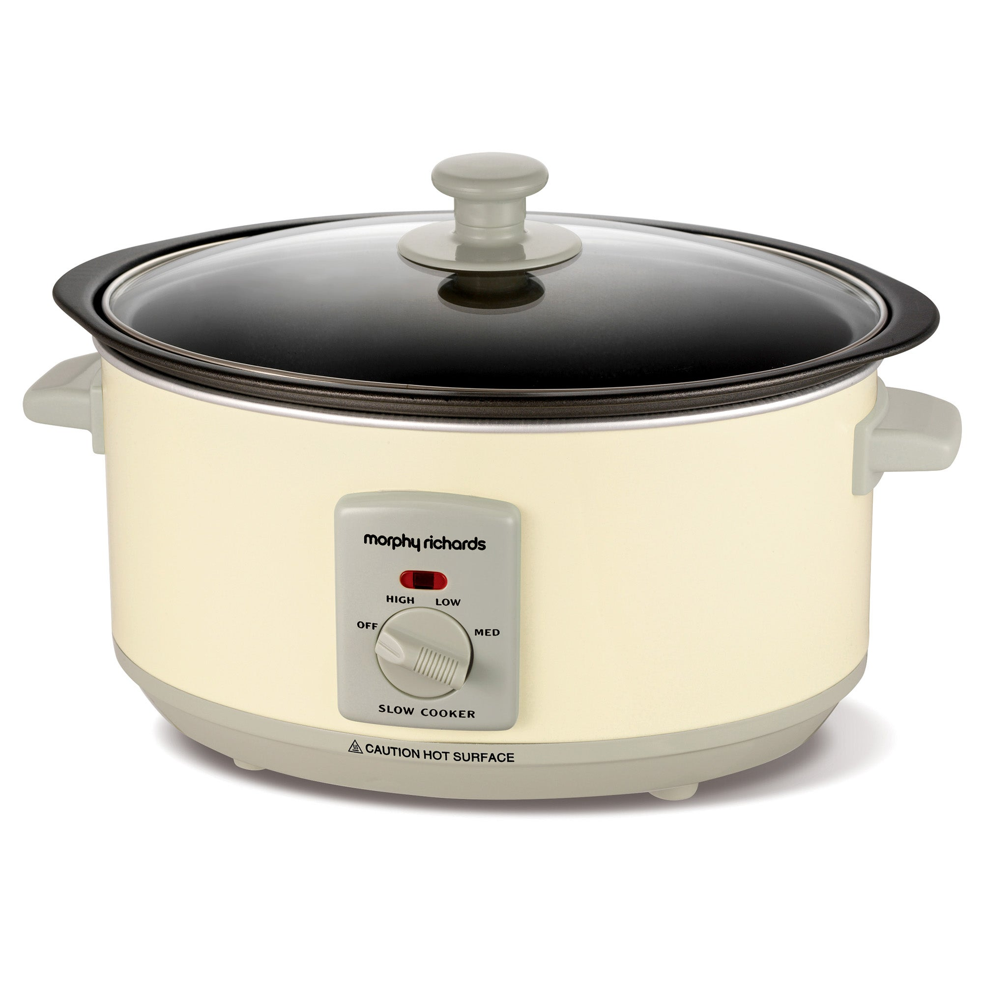 Morphy Richards Accents 461002 3.5L Cream Slow Cooker Cream