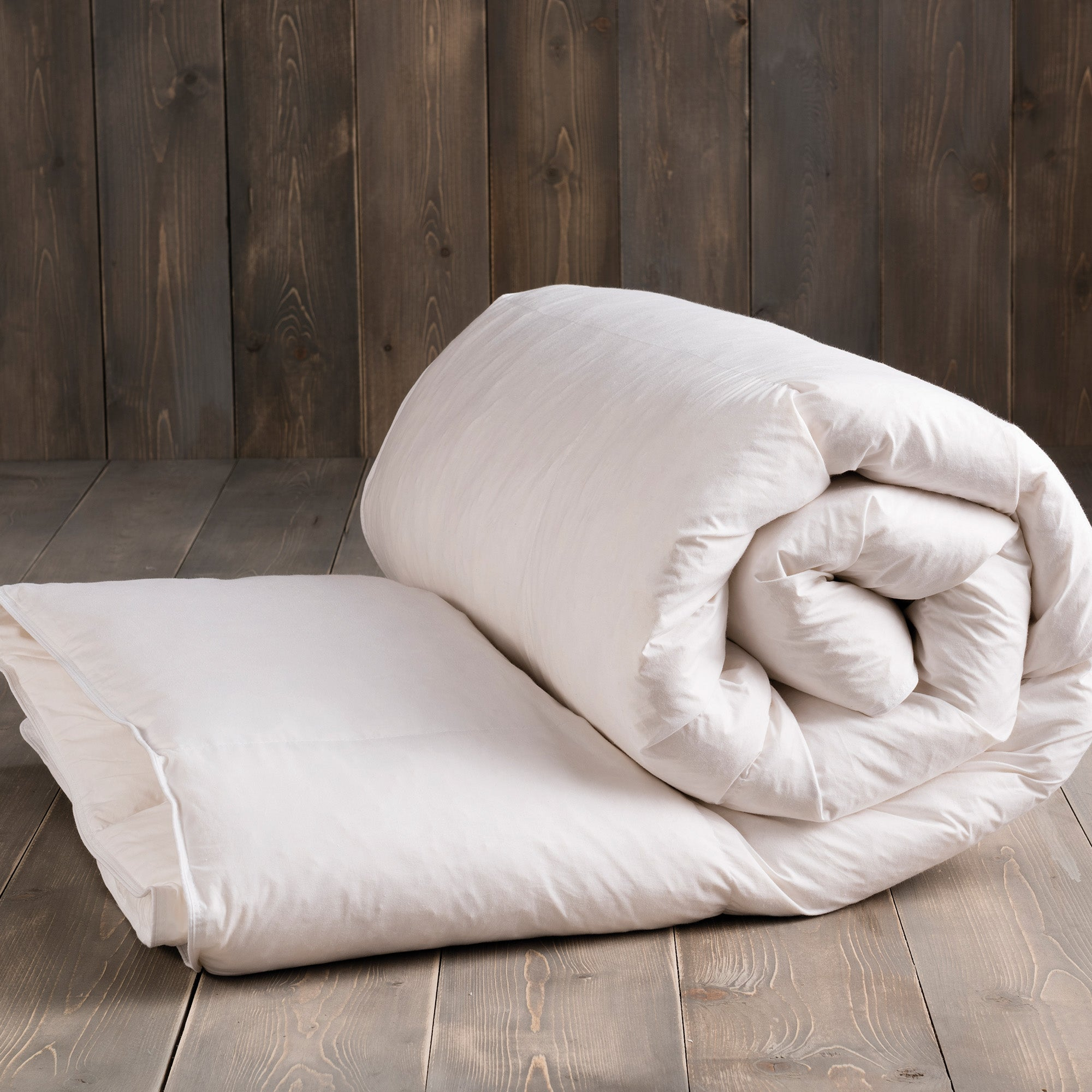 Image of Duck Feather 13.5 Tog Duvet White