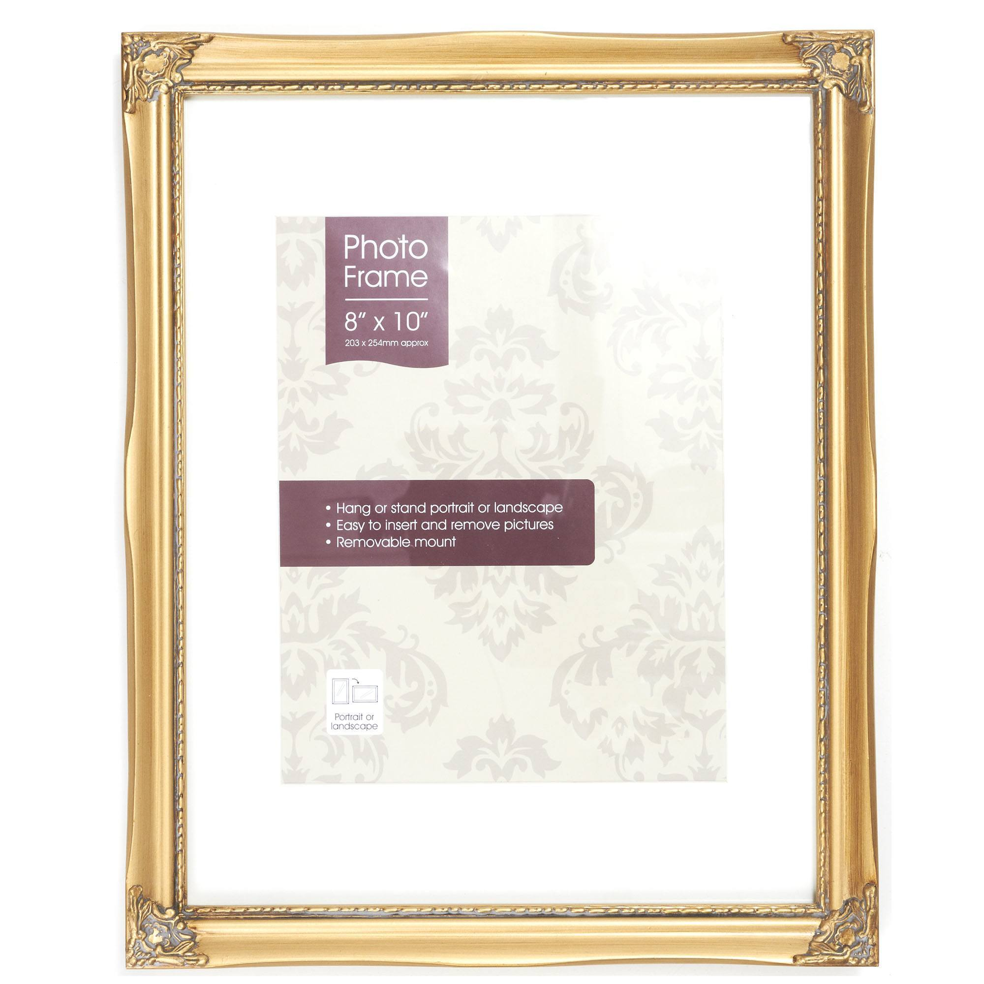 Gold Vintage Photo Frame Gold