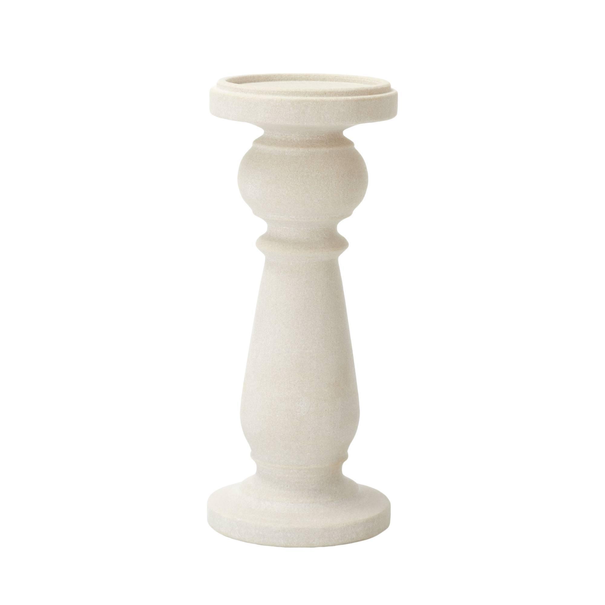 Photo of Dorma stone candle holder cream