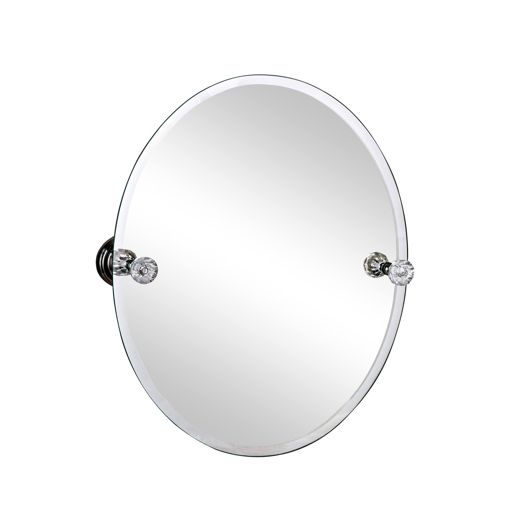 Photo of Sparkle hanging mirror silver