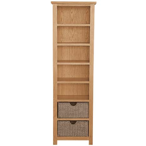 Sidmouth Oak Tall Bookcase