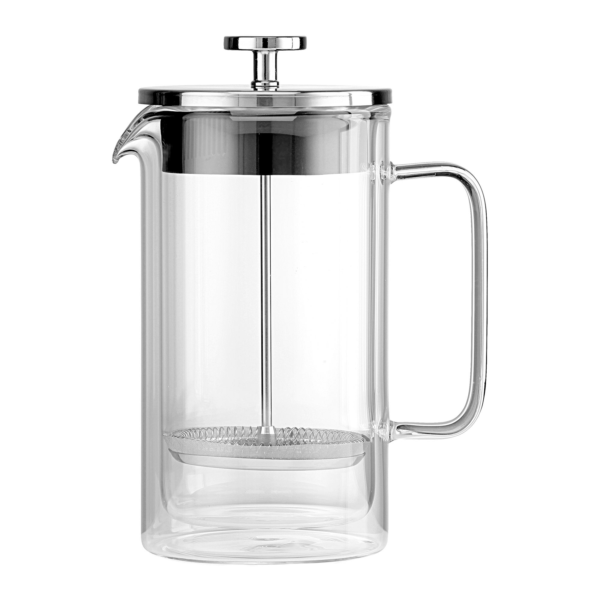 Photo of La cafetiere boheme double walled coffee press clear