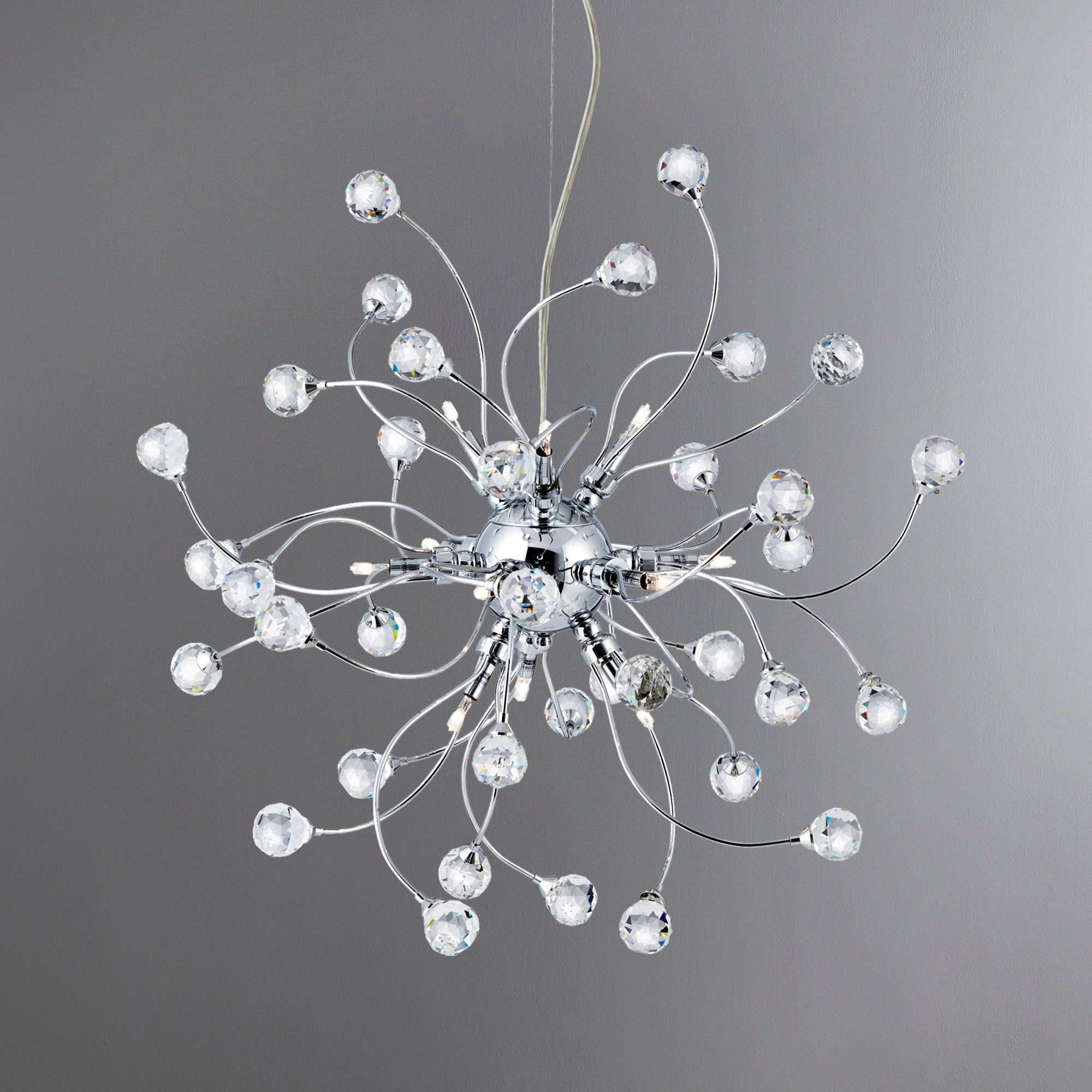 Image of 12 Light Ceiling Fitting Silver