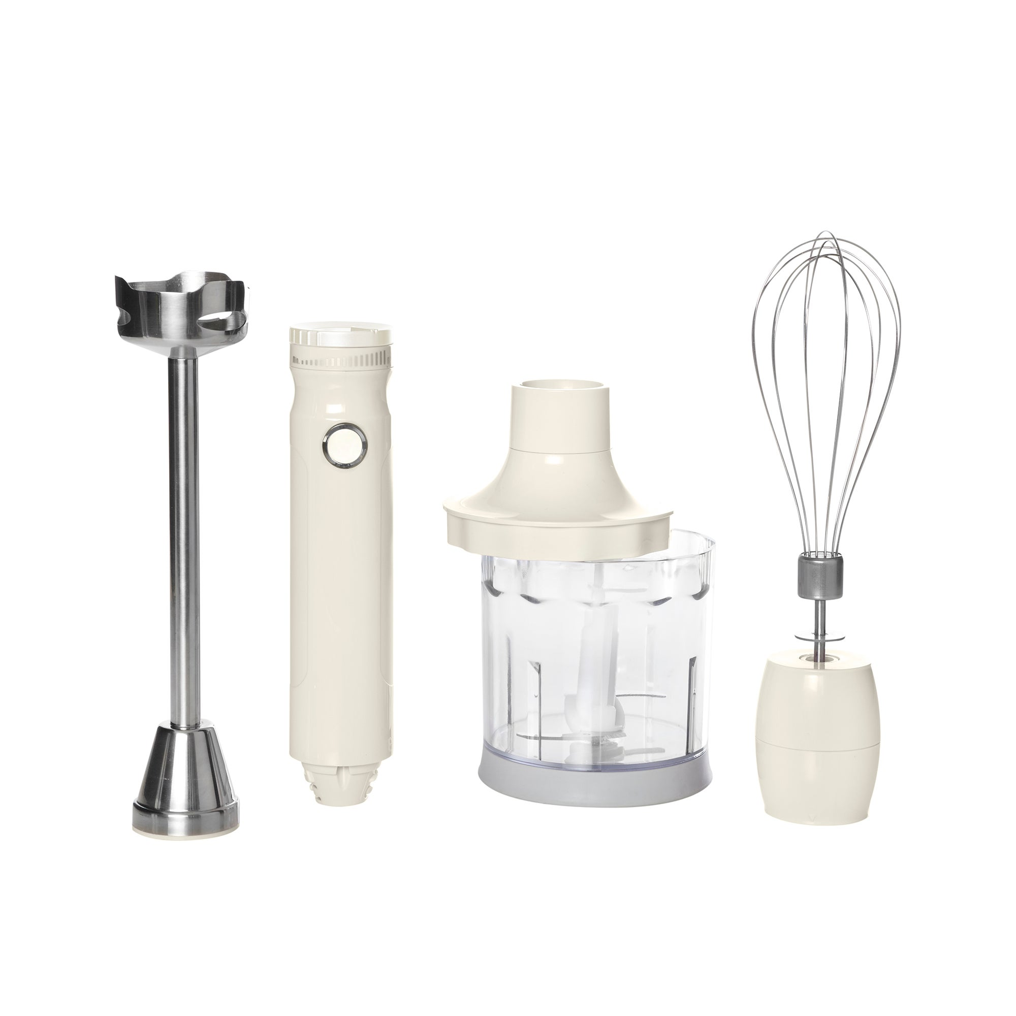 Candy Rose Cream Hand Blender Set Cream