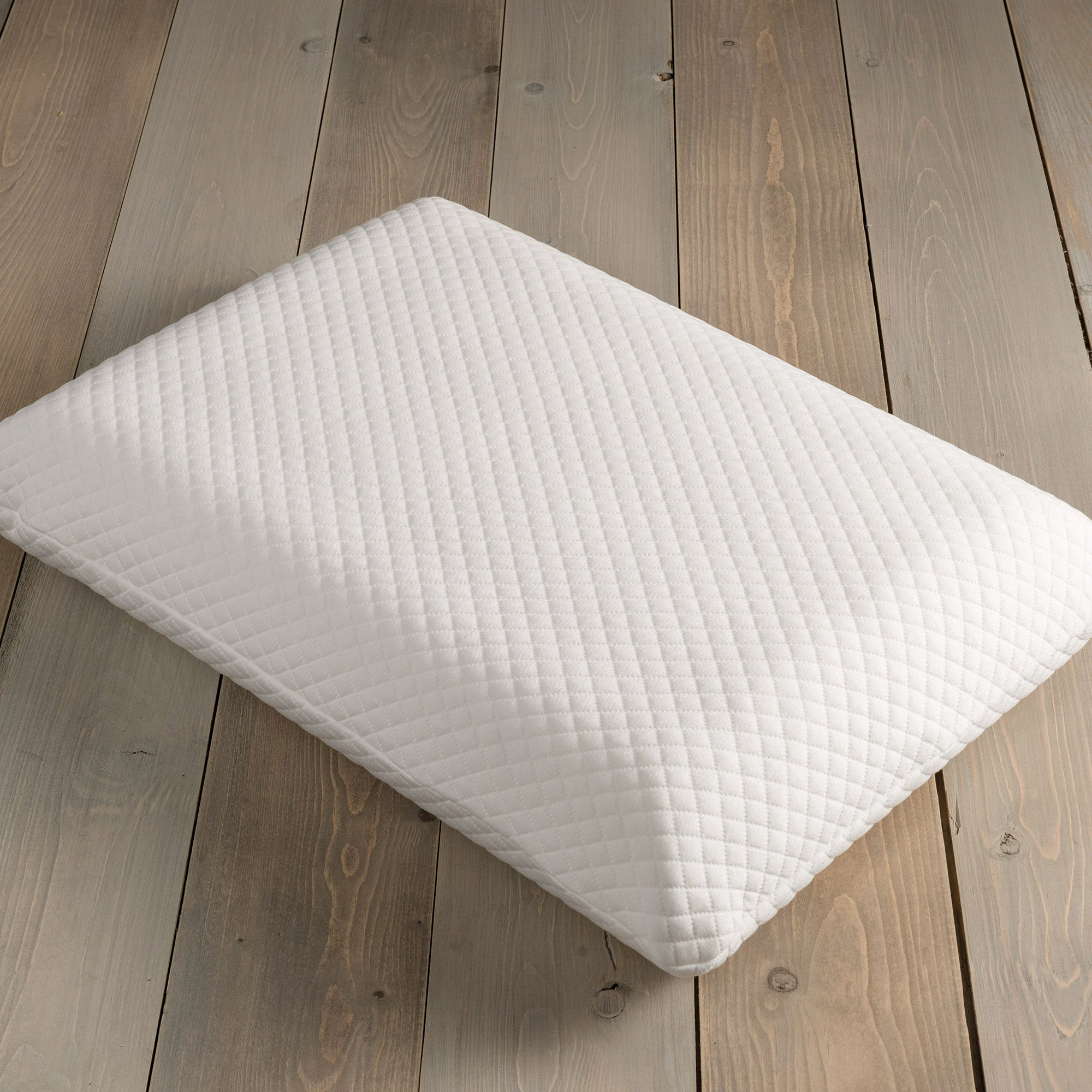 Image of Comfortzone 3D Memory Foam Firm-Support Pillow White