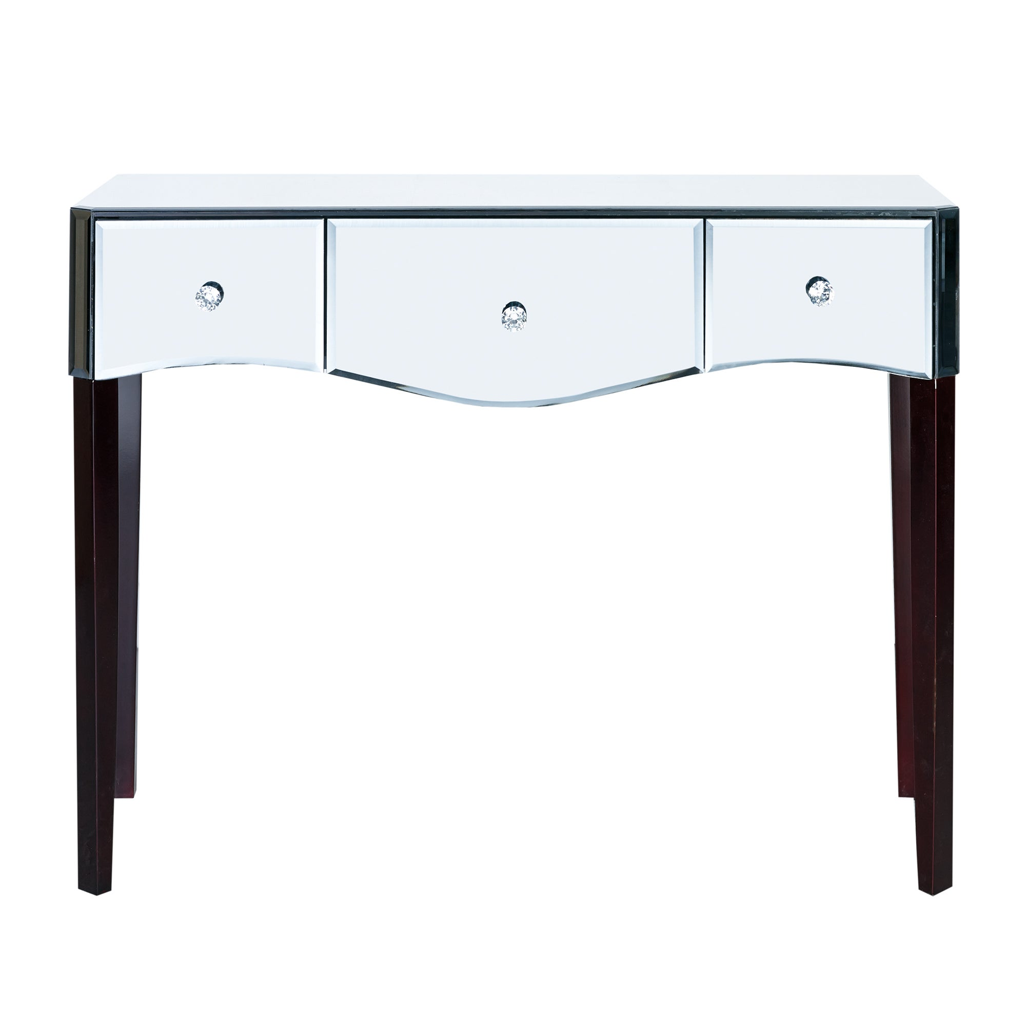Photo of Viola mirrored dressing table clear