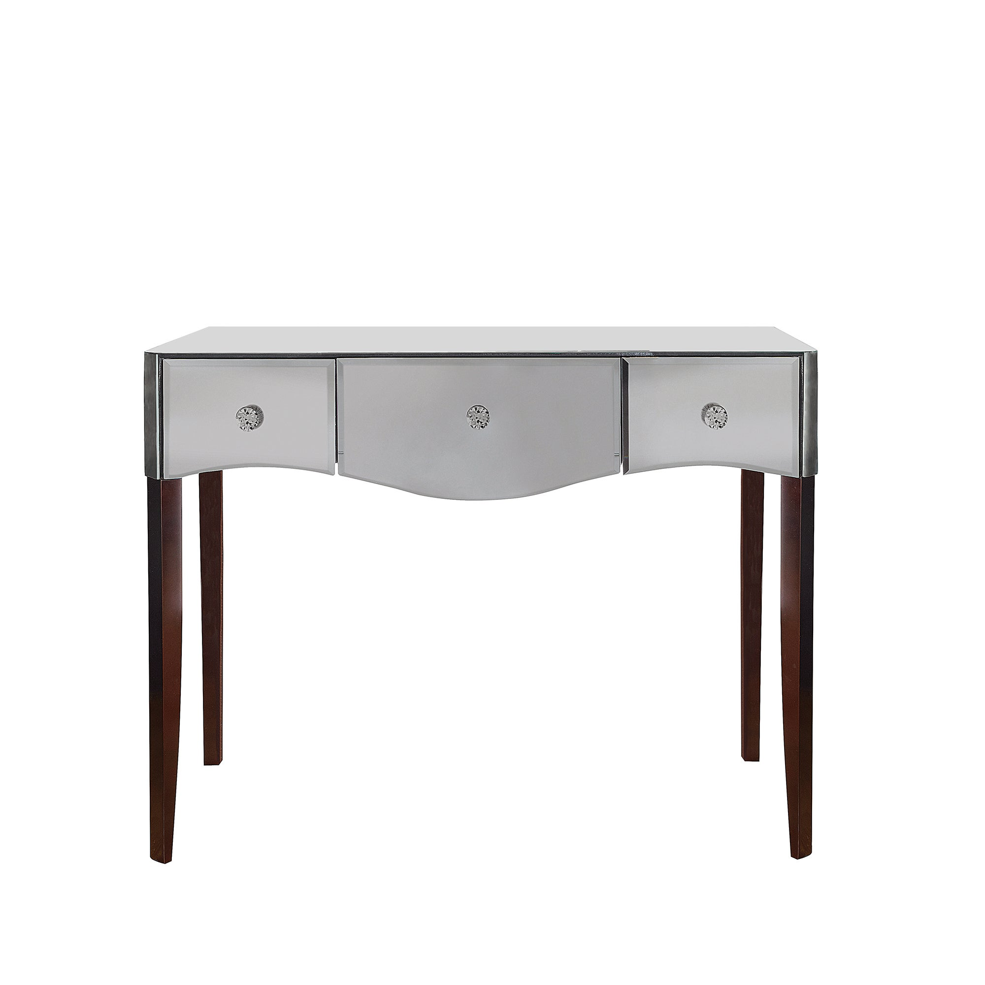 Photo of Viola smoke mirrored dressing table charcoal