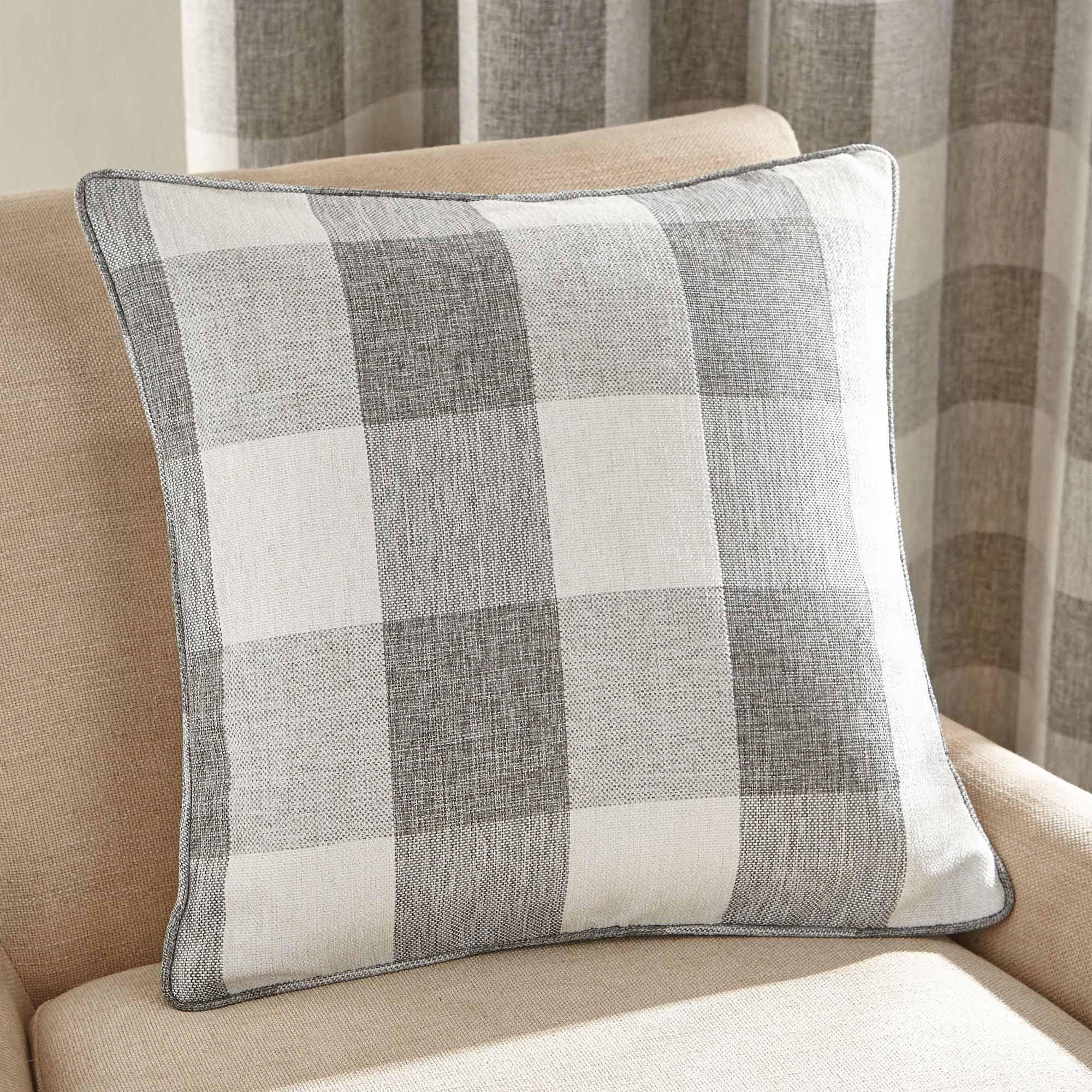 Photo of Natural skye square cushion light brown / natural