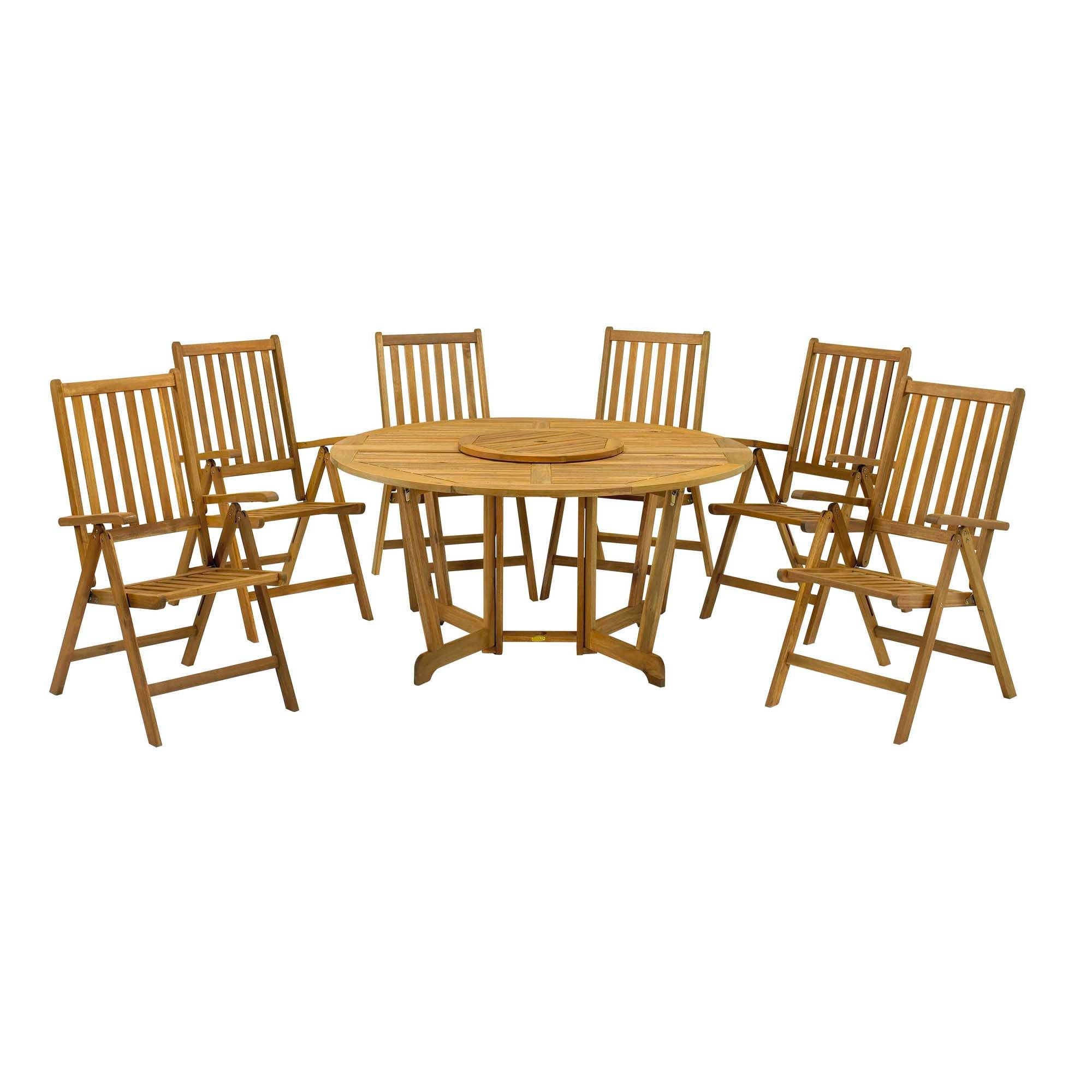 folding dining table and chairs garden