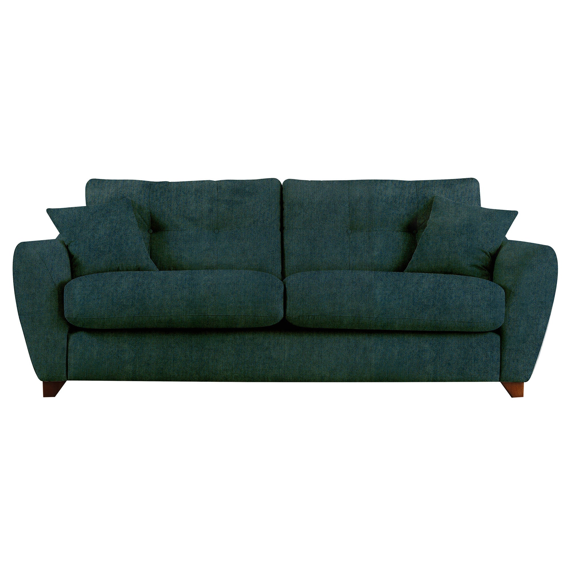Gosport sofa dark green teal green for Dark green sectional sofa