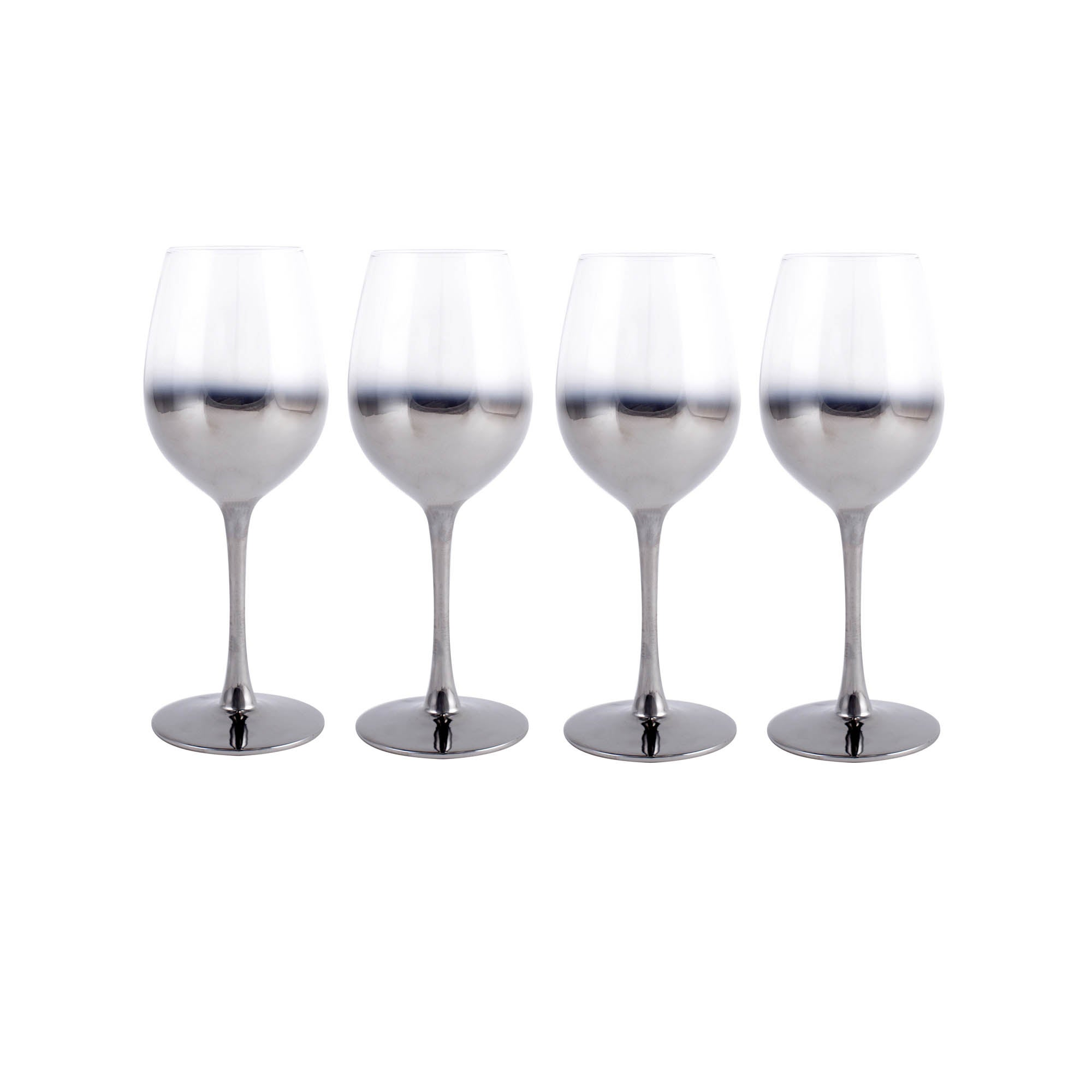 Image of 4 Pack Hotel Ombre White Wine Glass Clear