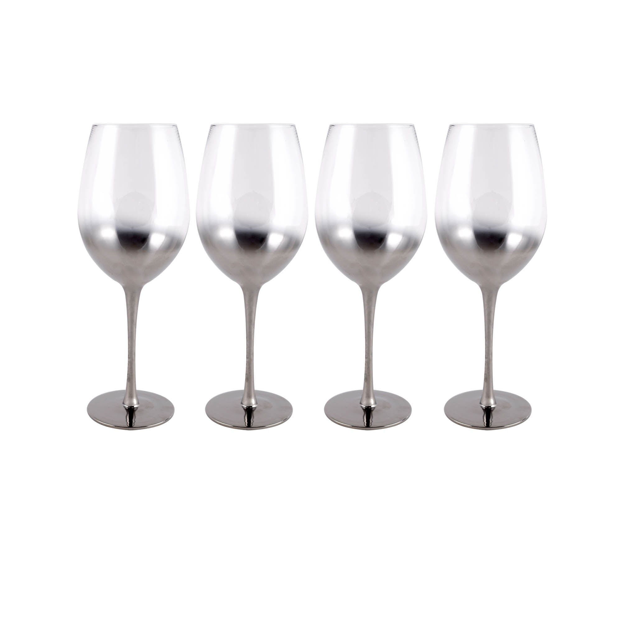 Image of 4 Pack Hotel Ombre Red Wine Glass Clear
