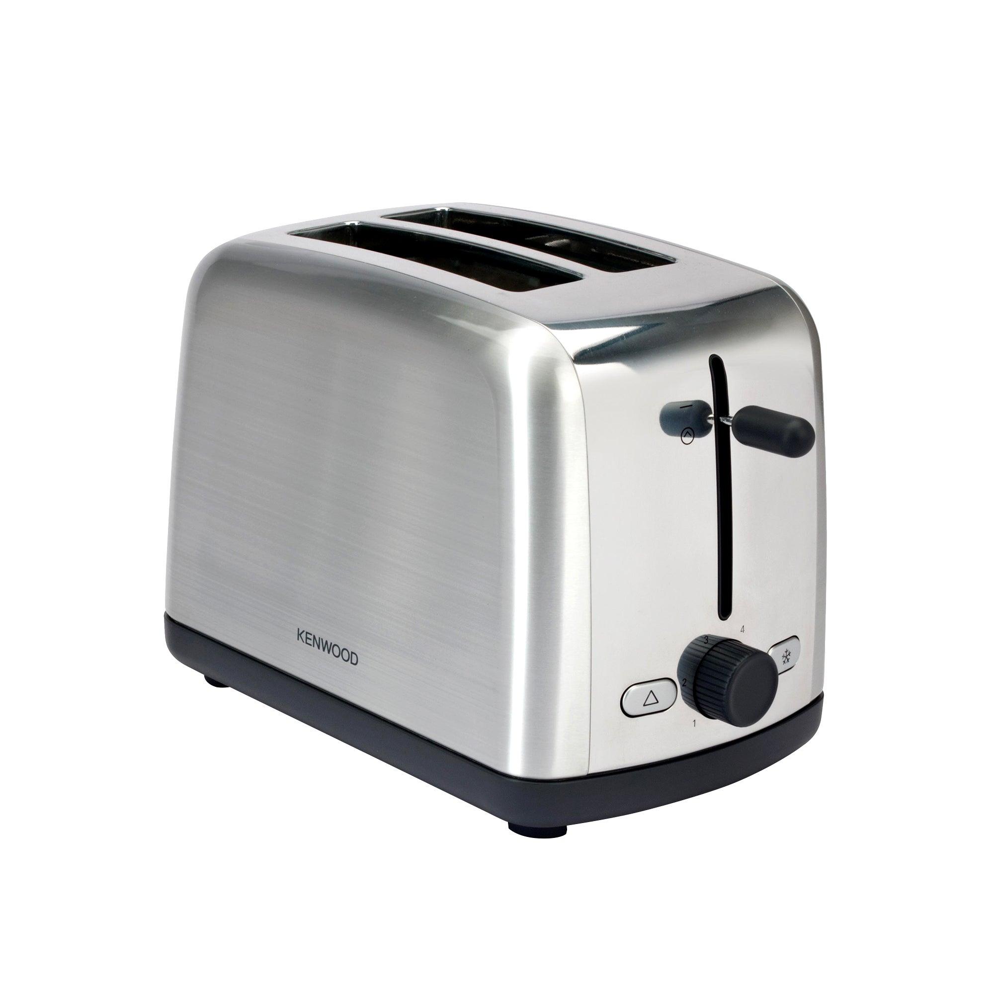 Kenwood Scene TTM440 Silver 2 Slice Toaster Silver