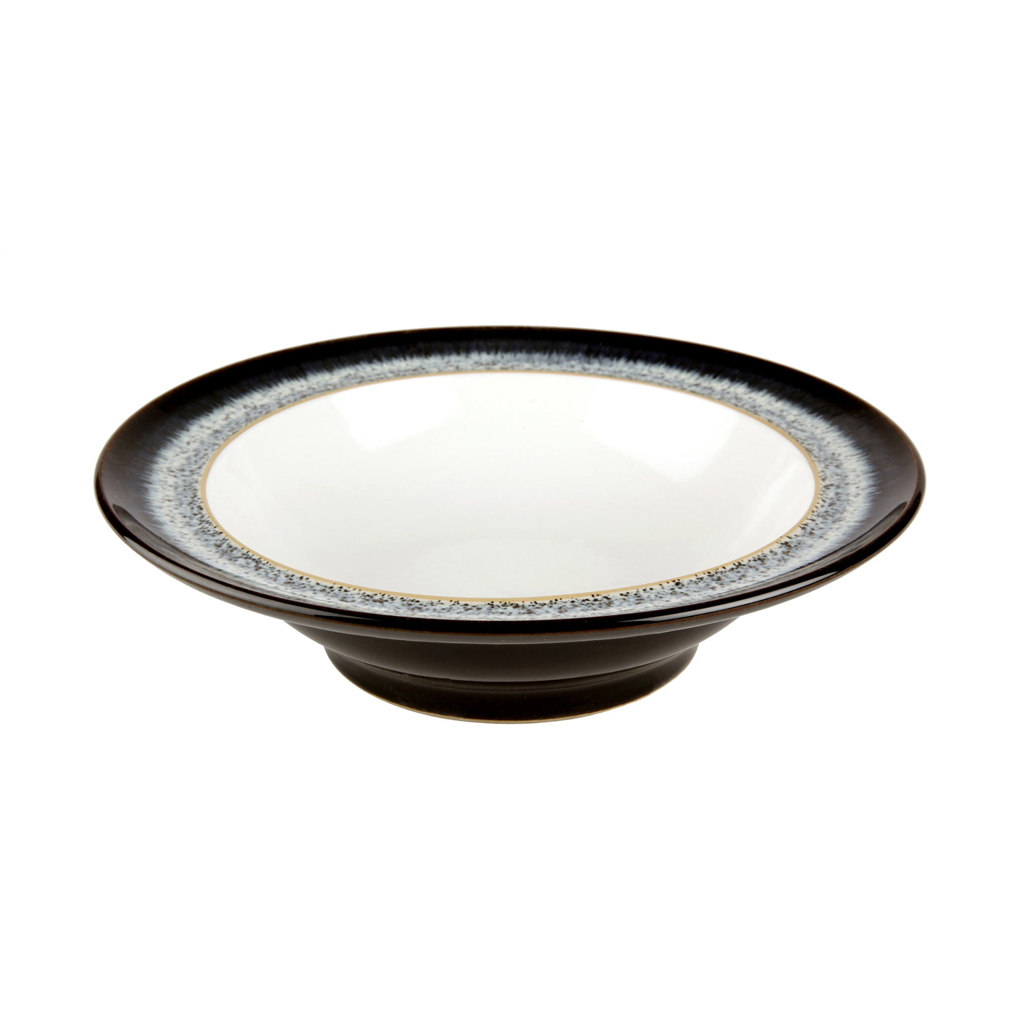 Image of Denby Halo Wide Rimmed Bowl Black