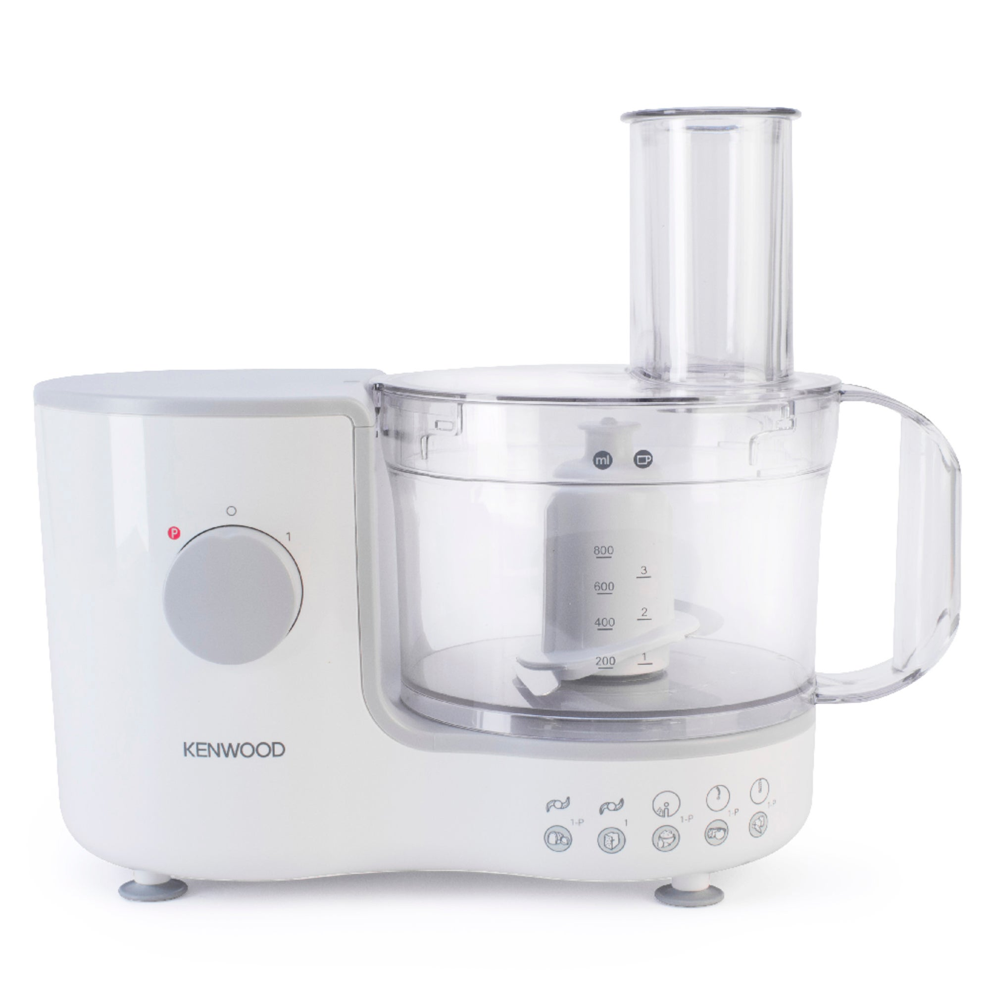Kenwood Compact FP120 White Food Processor White