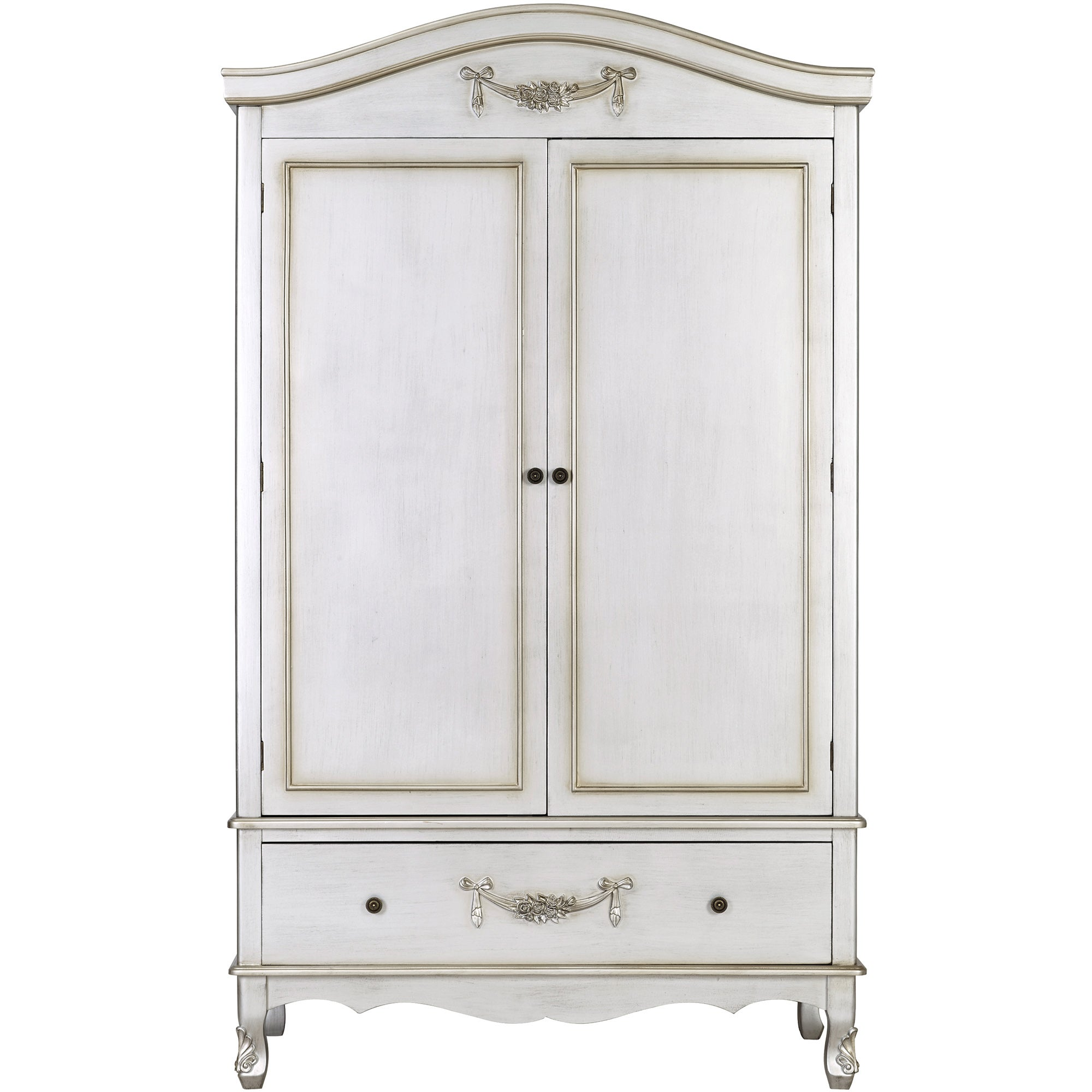 Photo of Toulouse silver double wardrobe silver -grey-