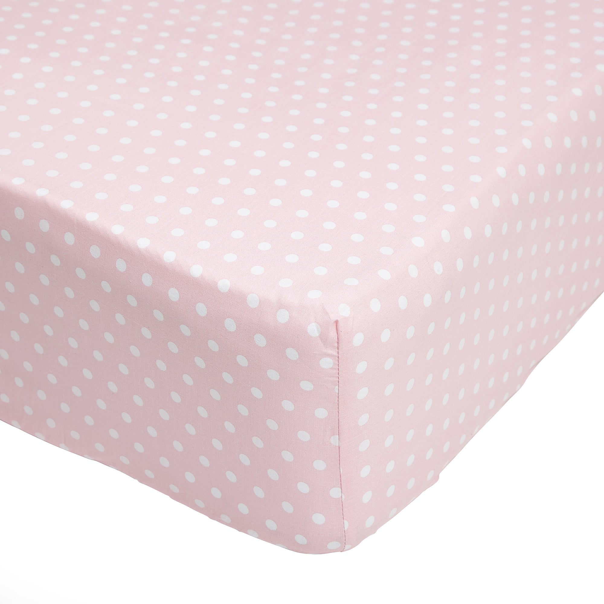 Fluffy Friends Pink 25cm Fitted Sheet Pink
