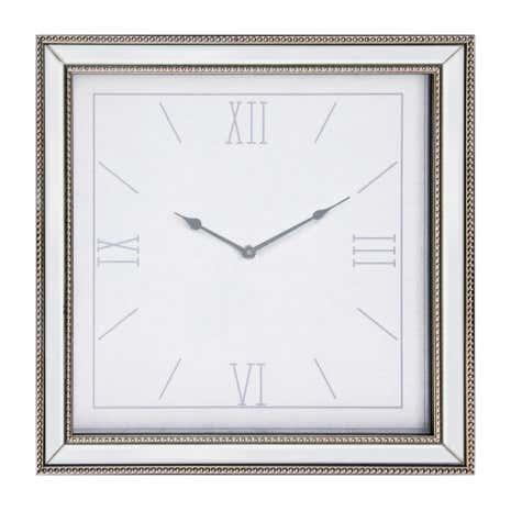 Mirrored Wall Clock dorma mirrored wall clock | dunelm